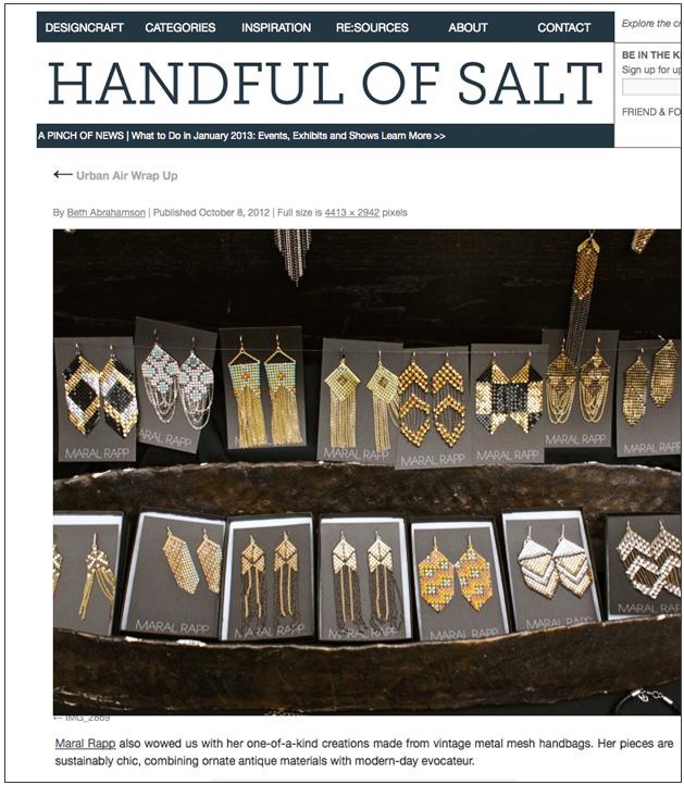 Handful of Salt, 10/12