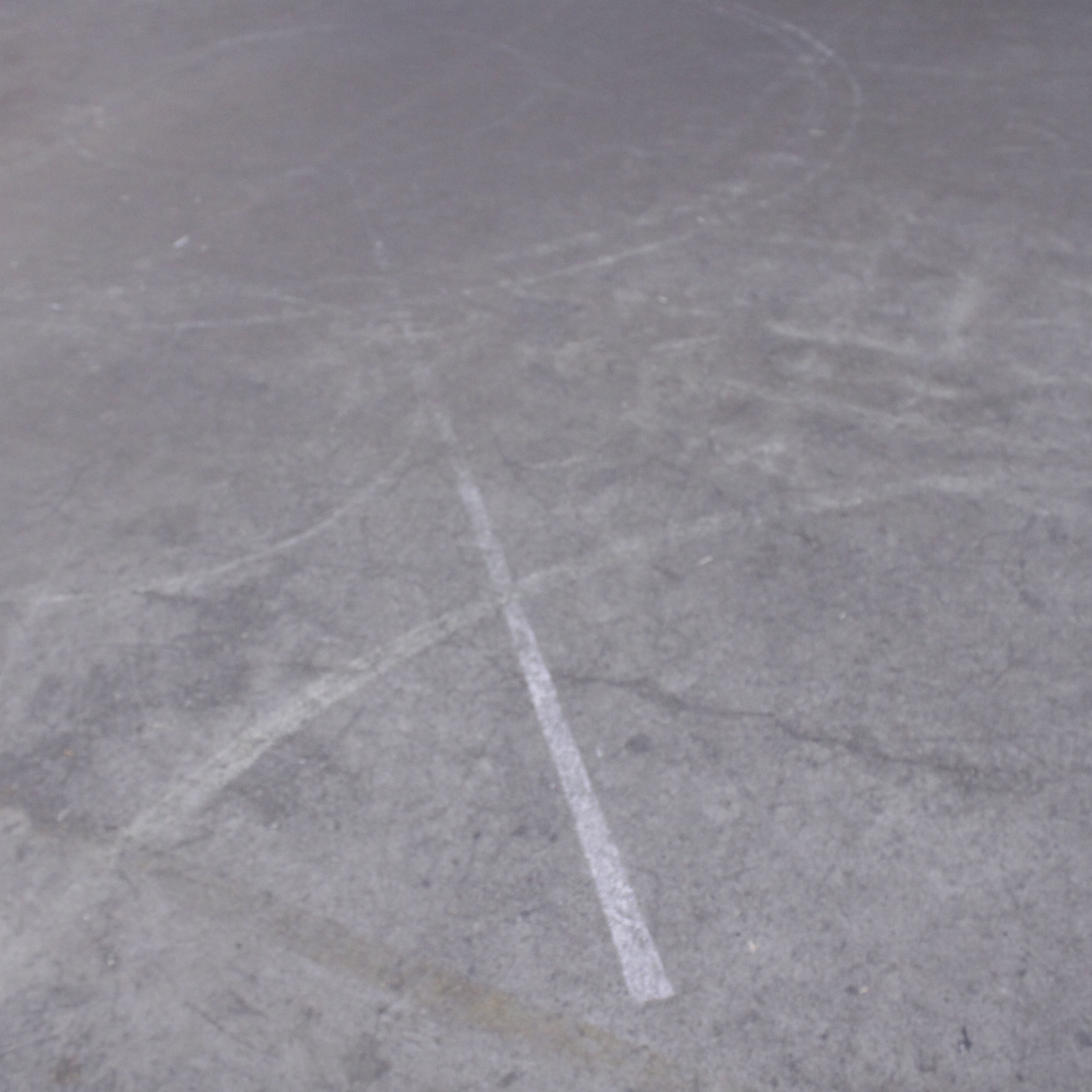 Revisiting the skatepark chalk drawings one week on.