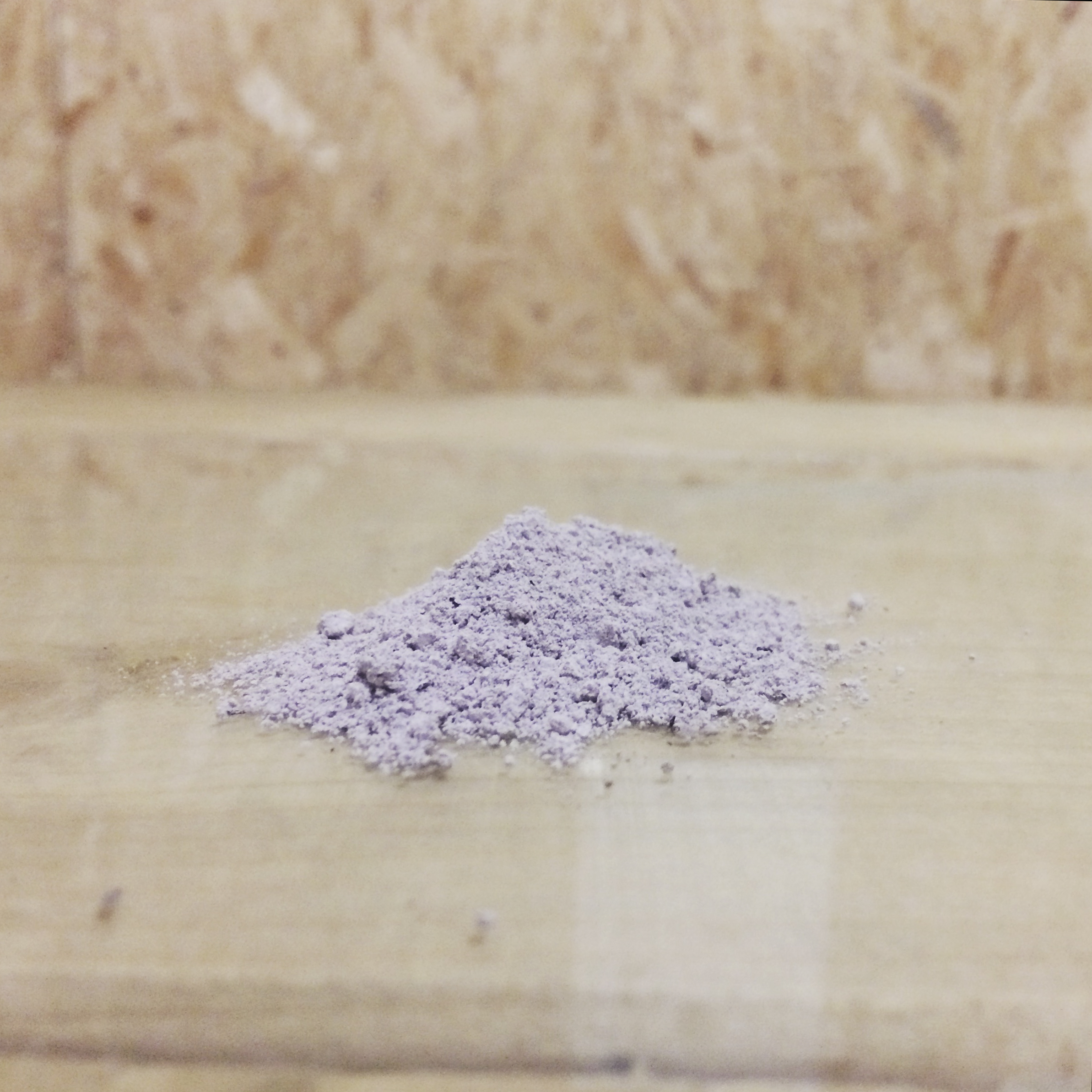 Purple ash from the Spit and Sawdust fire pit. This was ground up and made into an egg tempera paint which I used to create the final  wall mural .