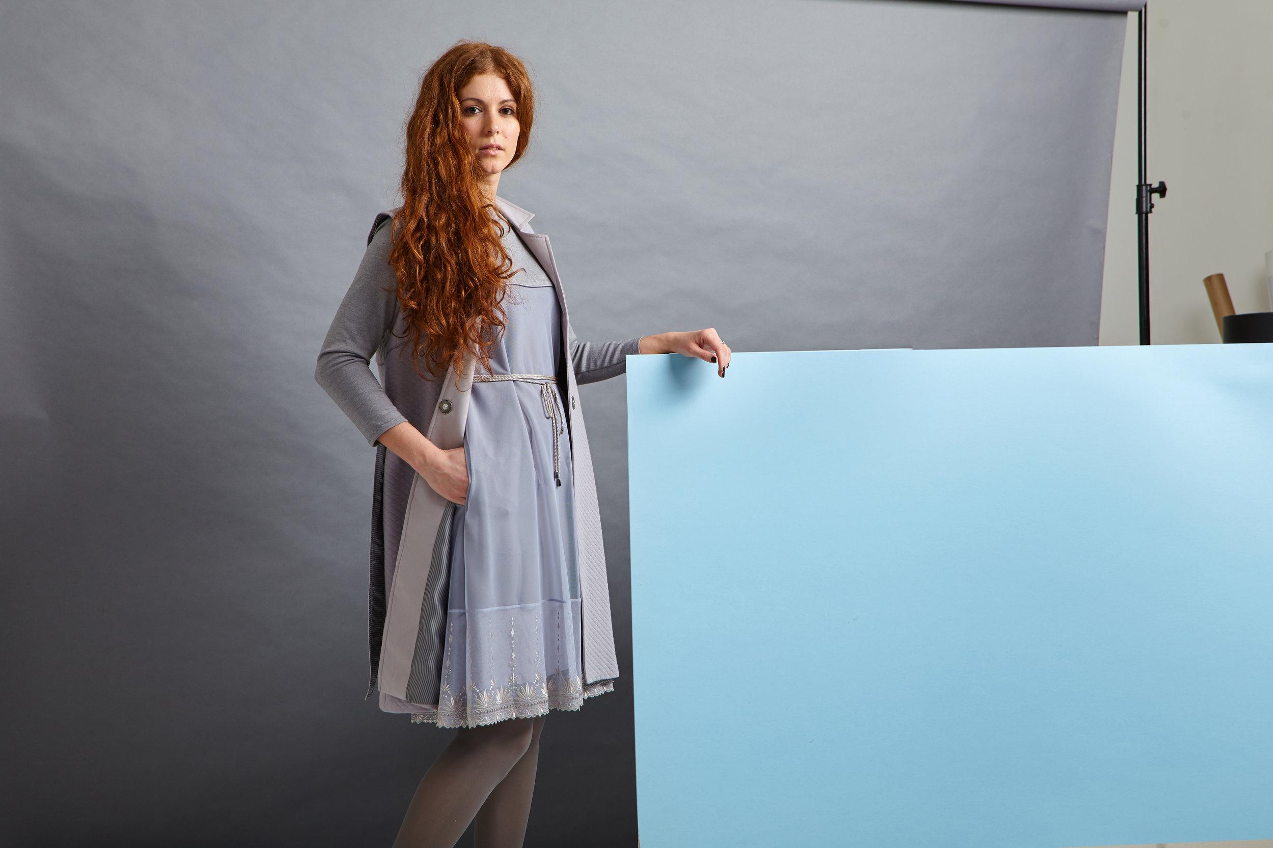 Жилет + платье