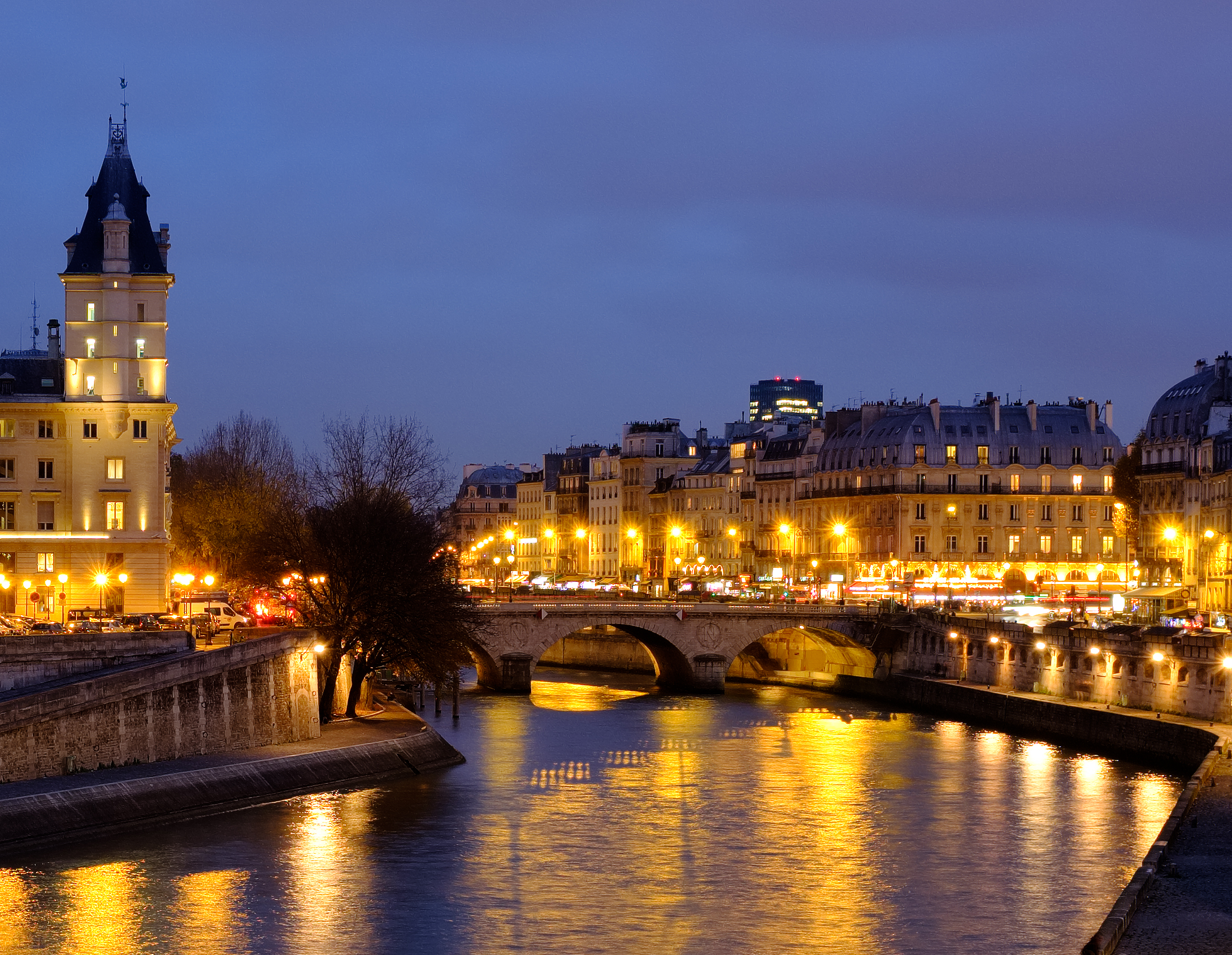 River Seine from Pont des Arts
