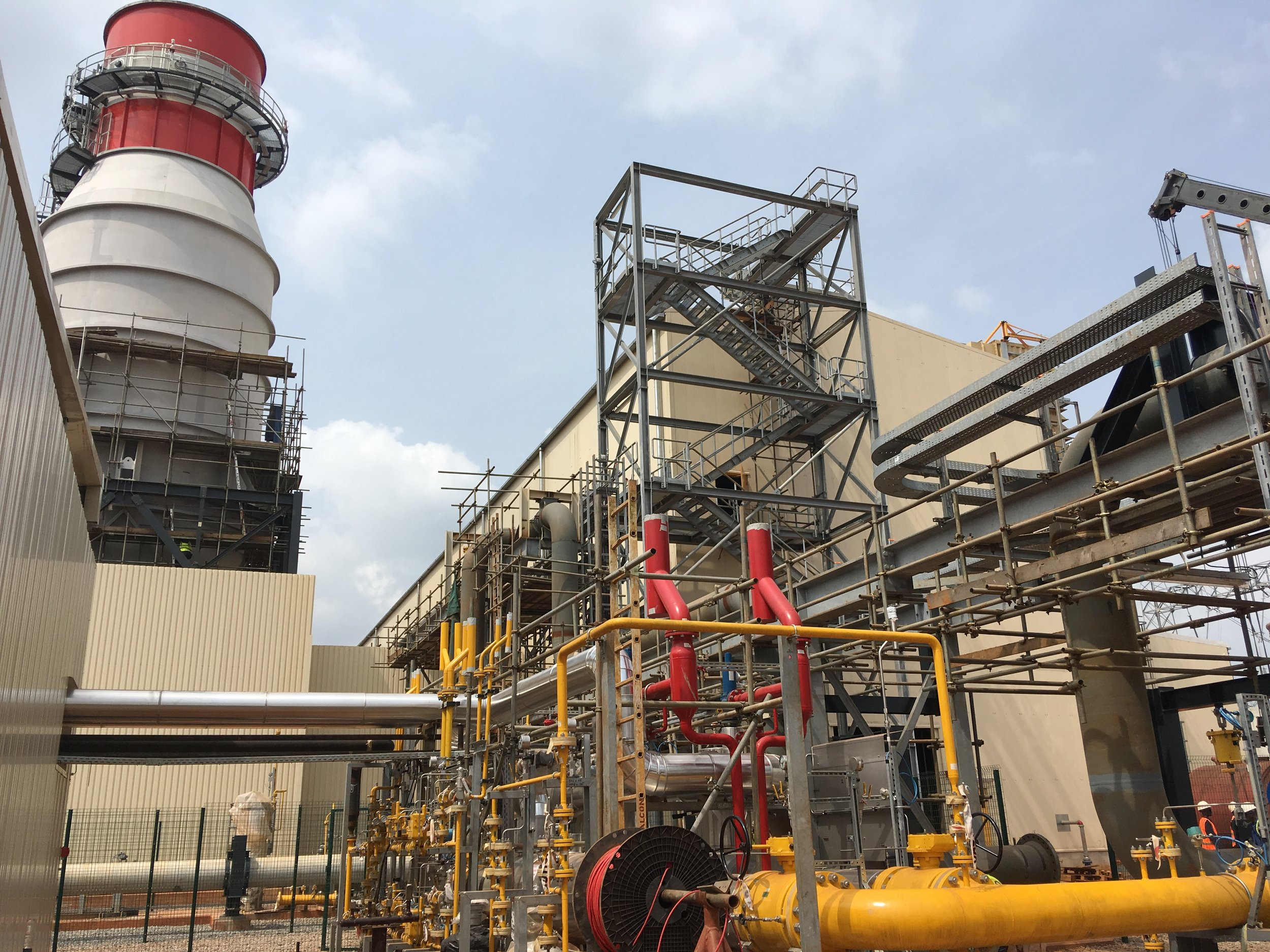 Azura-Edo IPP - The Azura-Edo IPP is a 459MW open cycle gas turbine power station located in Benin City Nigeria. It comprises three