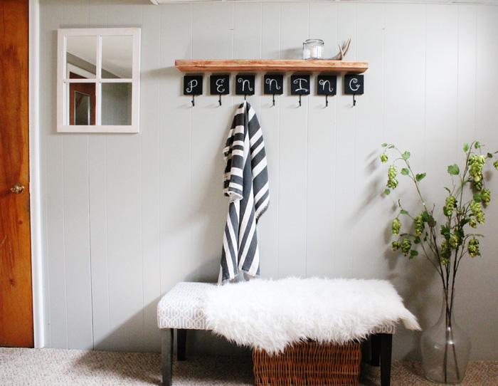 entryway update for under $100