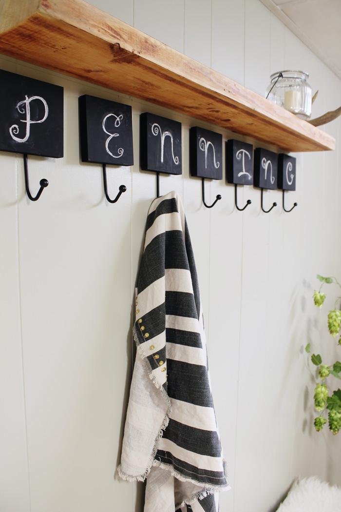 chalkboard hooks