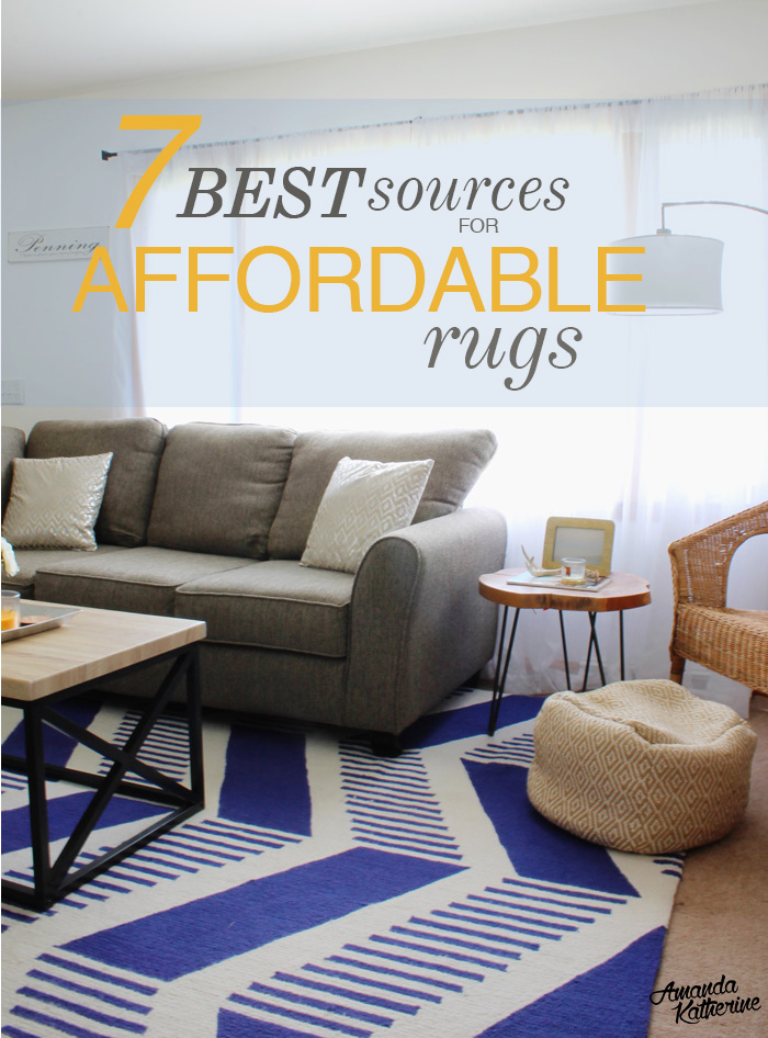 7 best sources for affordable rugs