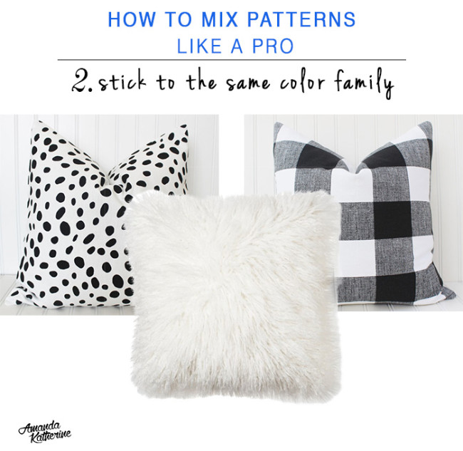 how to mix patterns like a pro