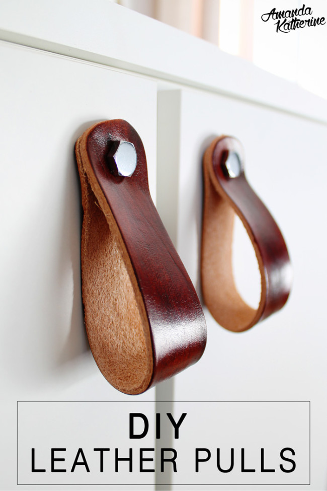 DIY Leather Pulls