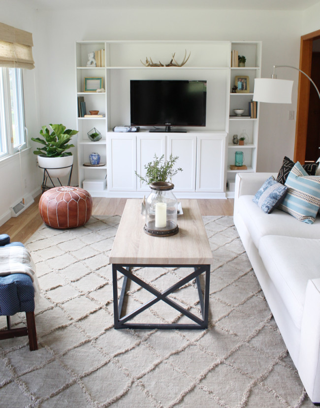 4 tips to decorate a living room you love + our living room reveal