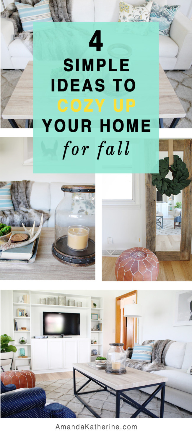 Simple fall decor ideas to cozy up your home inspired by Joanna Gaines