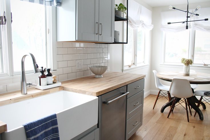 Small Kitchen Remodel Before and After — Amanda Katherine