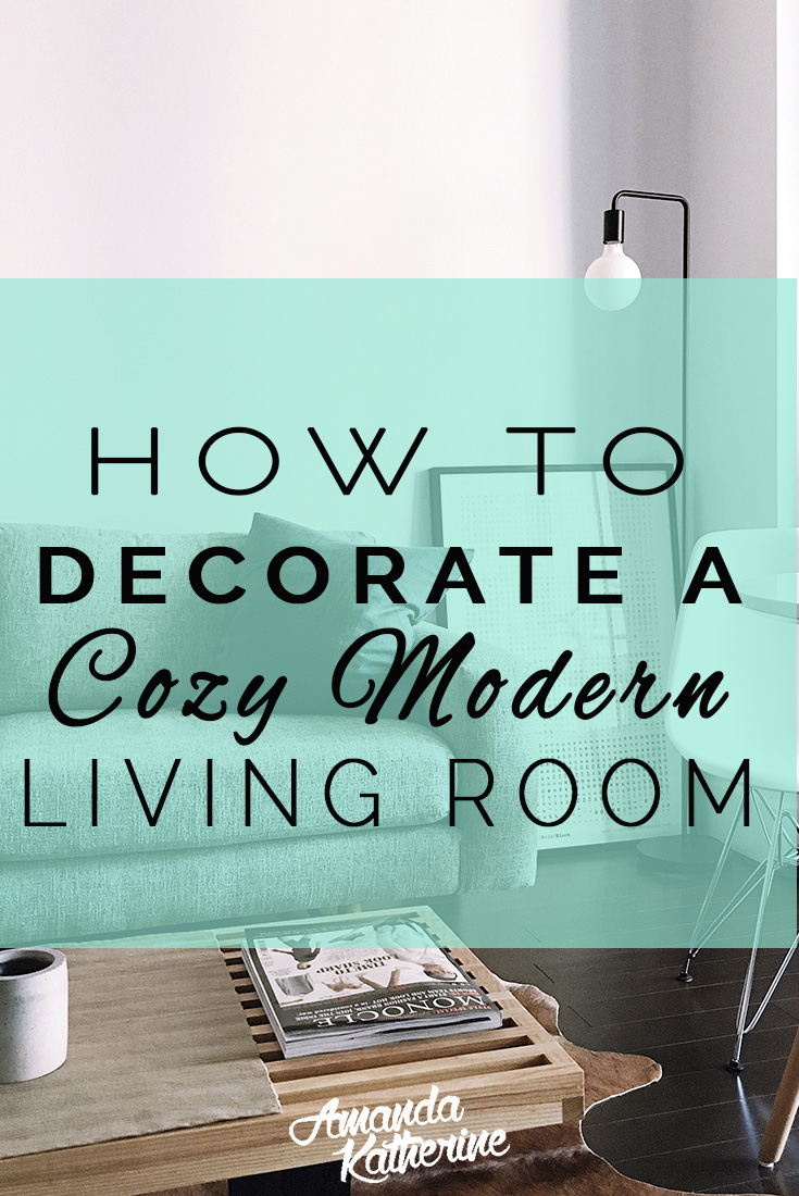 How To Decorate A Cozy Mid Century Modern Living Room Reader Submission Amanda Katherine