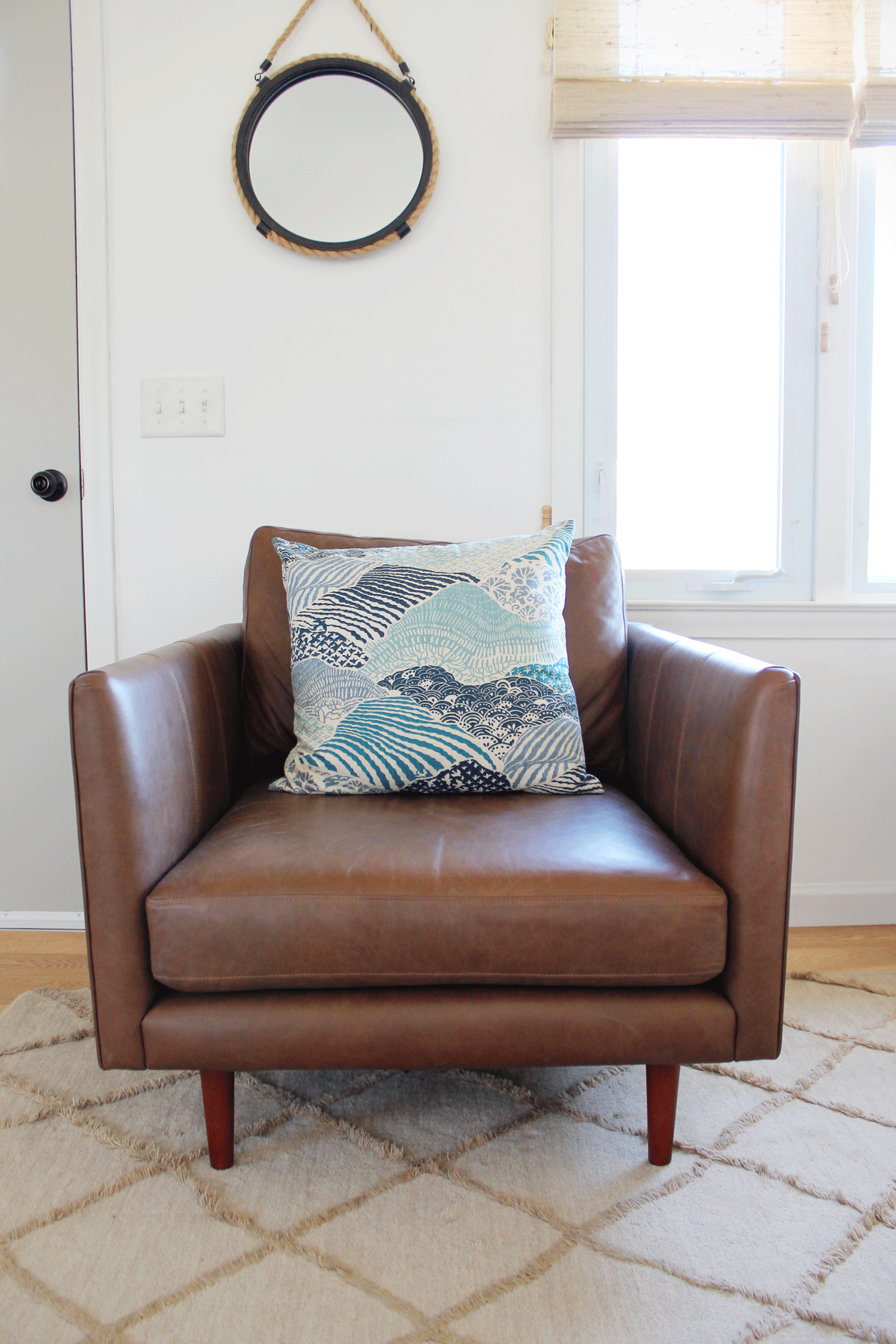 Article Leather Chair Furniture Review Amanda Katherine