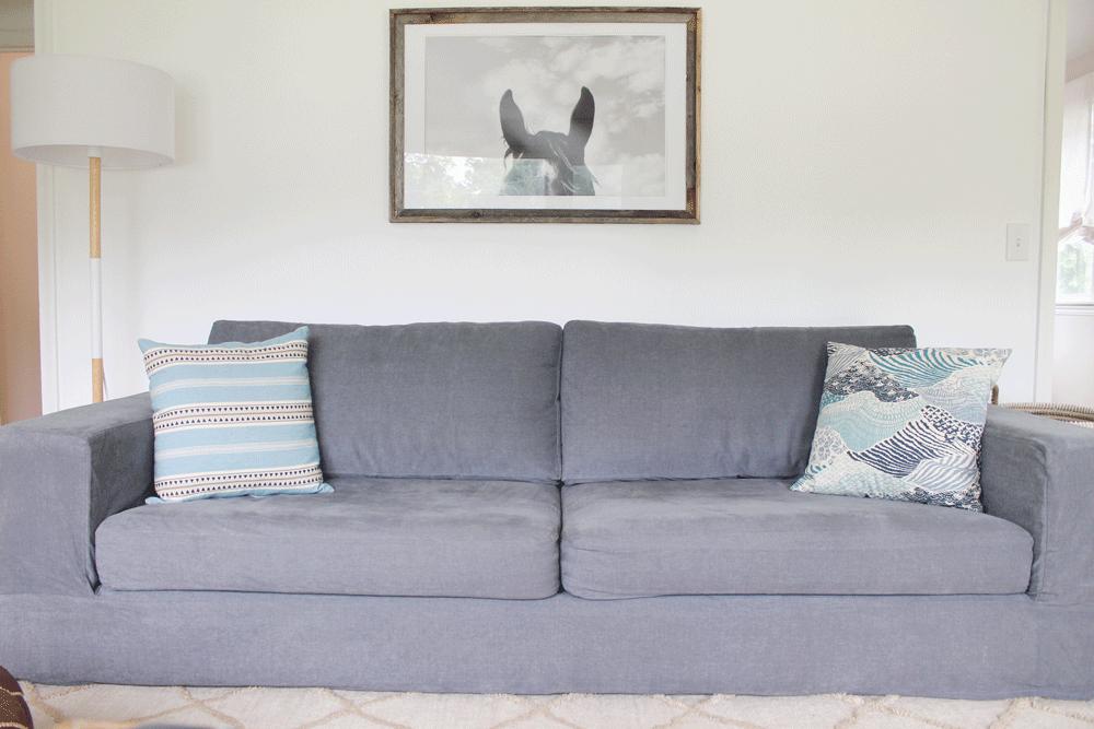 comfort works madison coal sofa slipcover