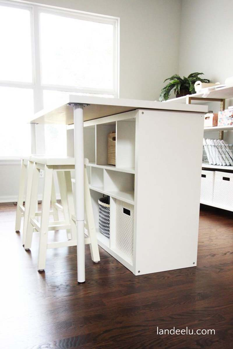 See-20-of-the-best-Ikea-Kallax-Hacks-ideas-and-the-different-ways-you-can-DIY-them-for-your-home.-Use-the-Ikea-Kallax-as-a-work-table-in-your-craftroom.jpg