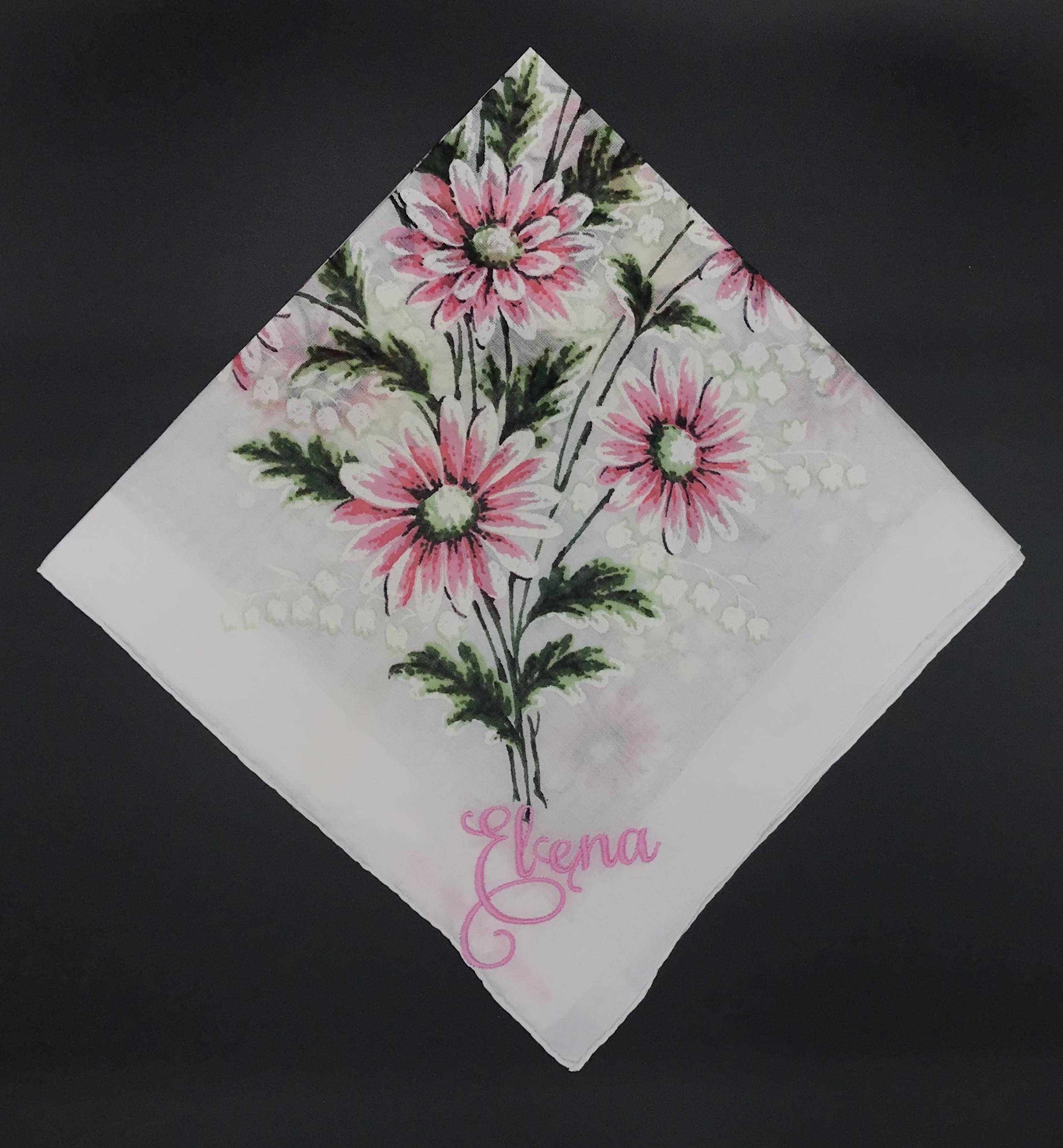 Elena Vintage Handkerchief