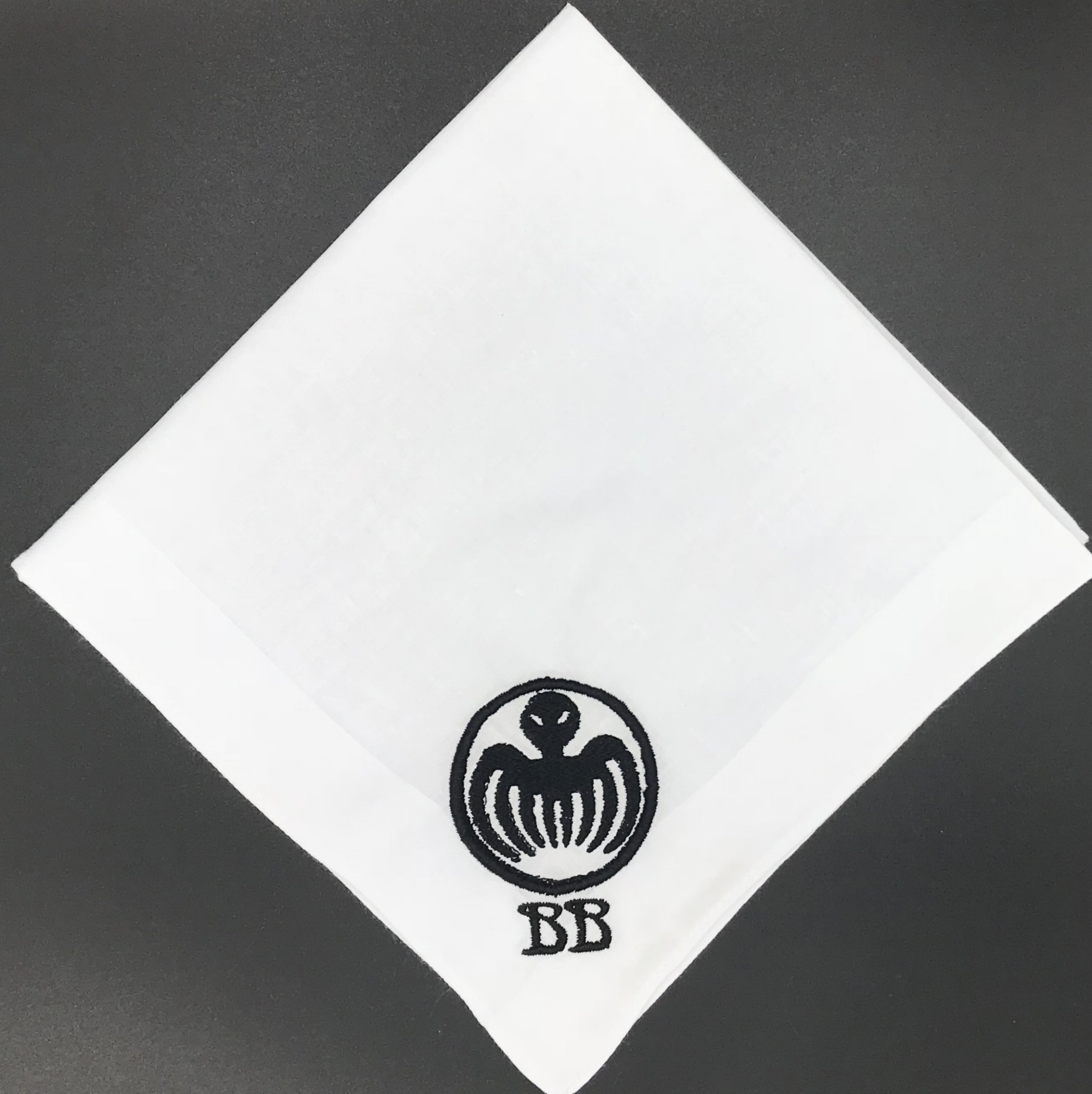 James Bond Spectre Custom Monogram Handkerchief