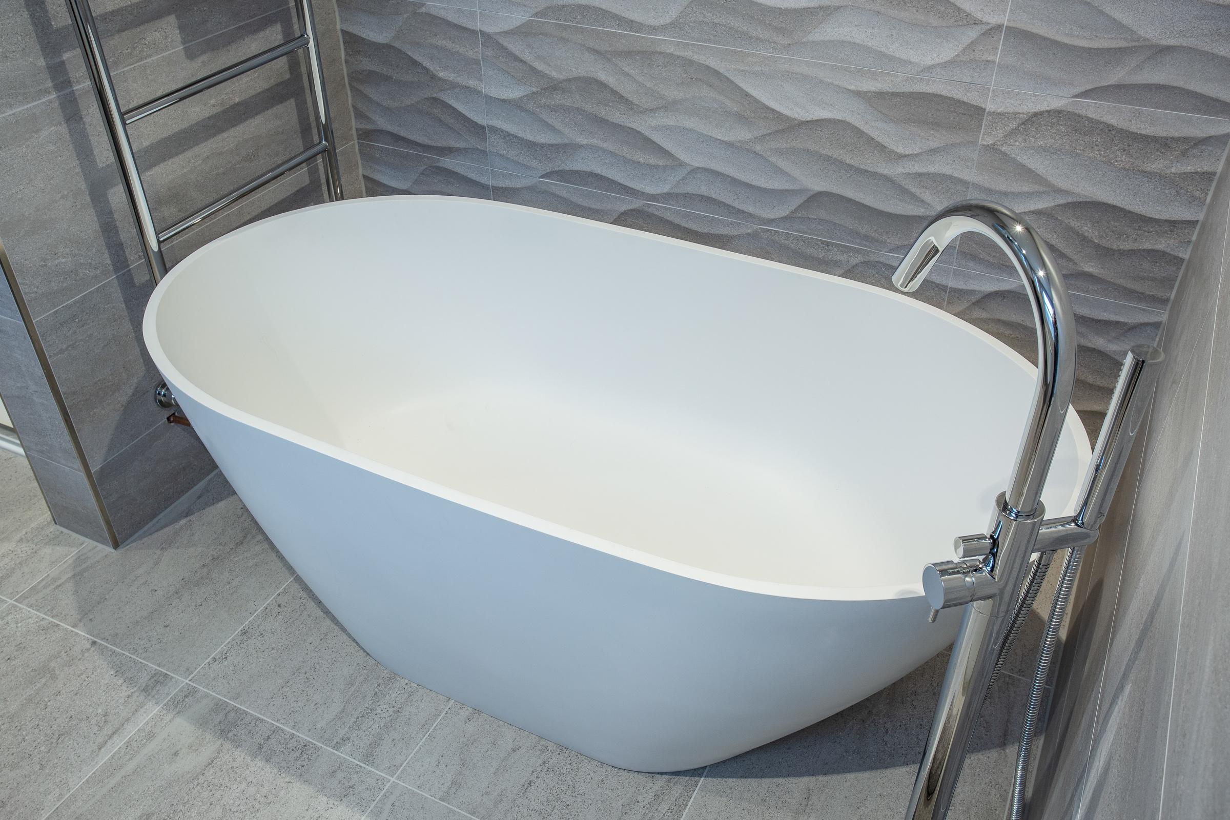 Waters egg shaped bath