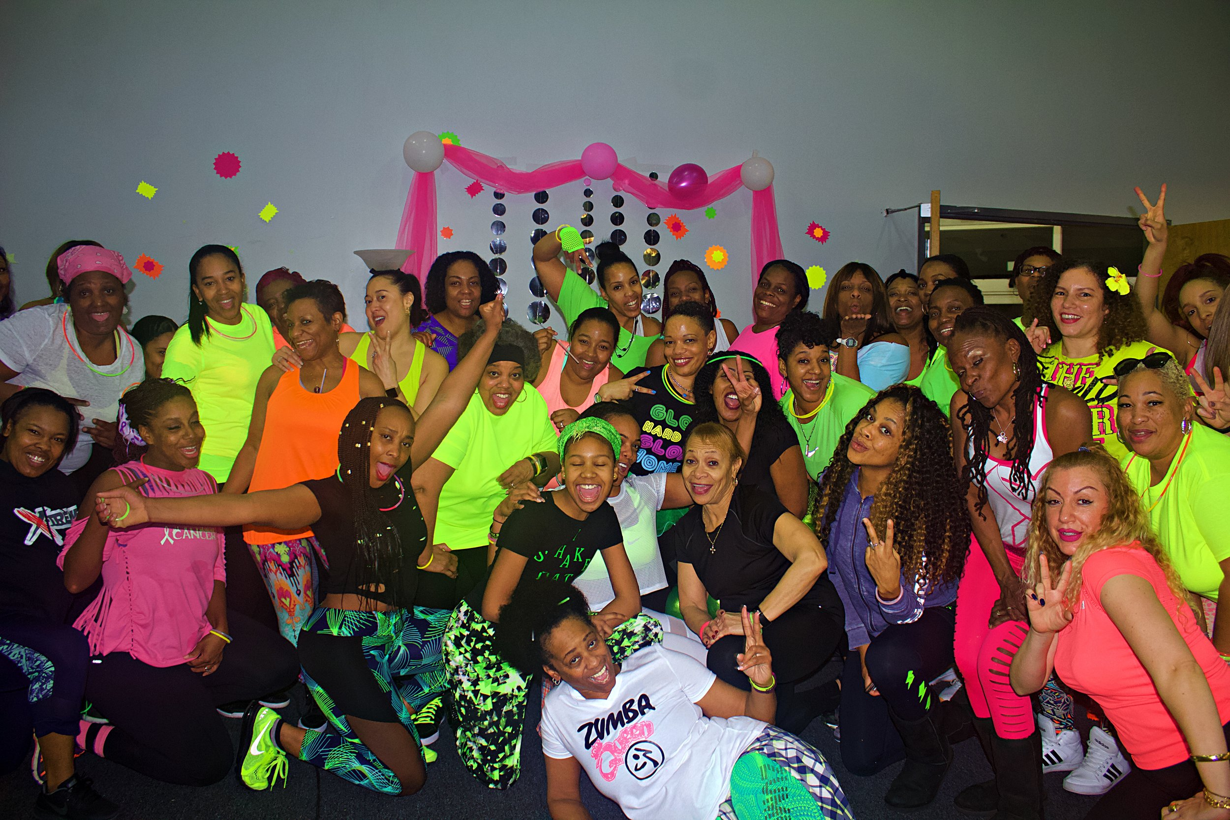 BREAST CANCER AWARENESS GLOW PARTY