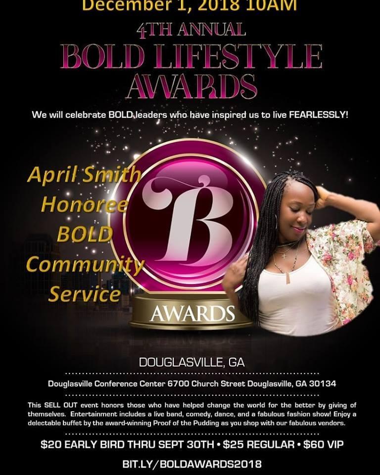 2018 BOLD COMMUNITY SERVICE AWARD -