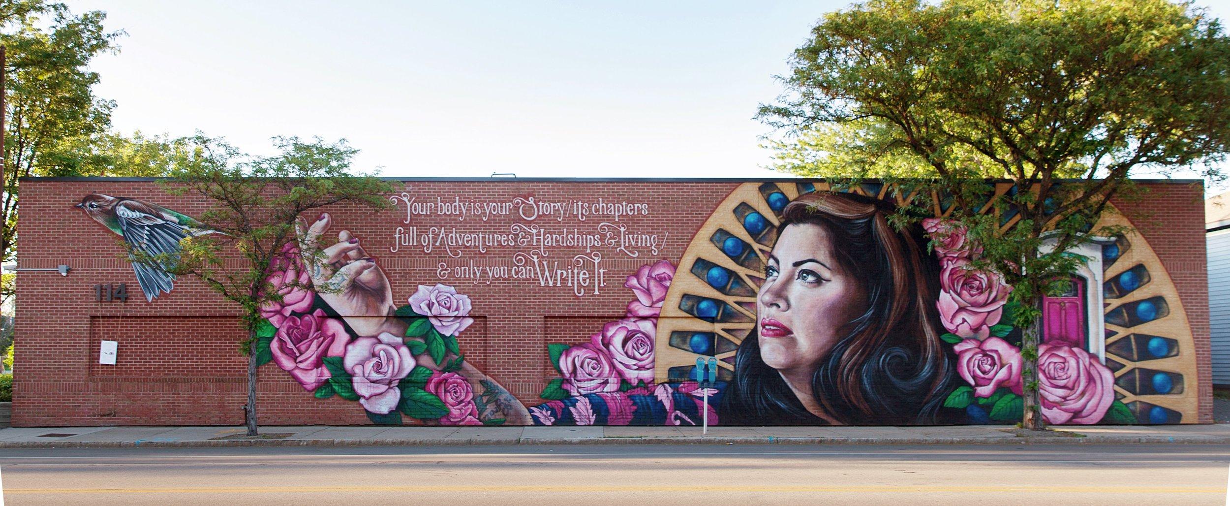 Rachel McKibbens , Northwest Quadrant, Rochester, NY
