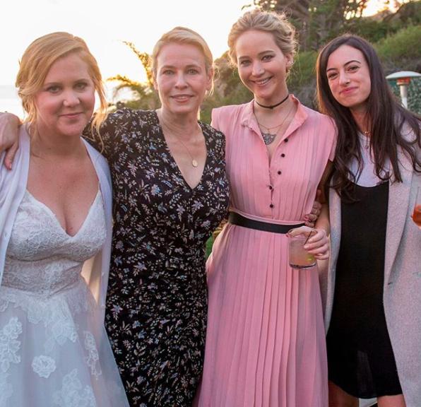 Amy Schumer's Intimate Wedding