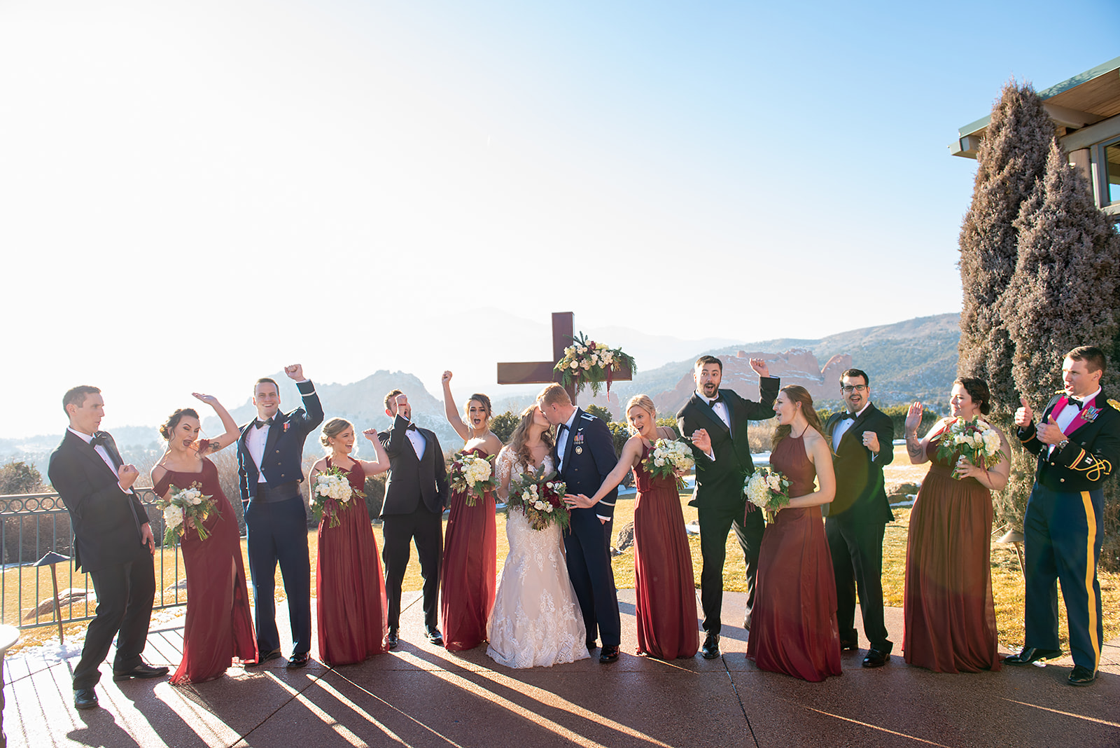 Sunny Wedding photo by  Dawn Sparks Photography