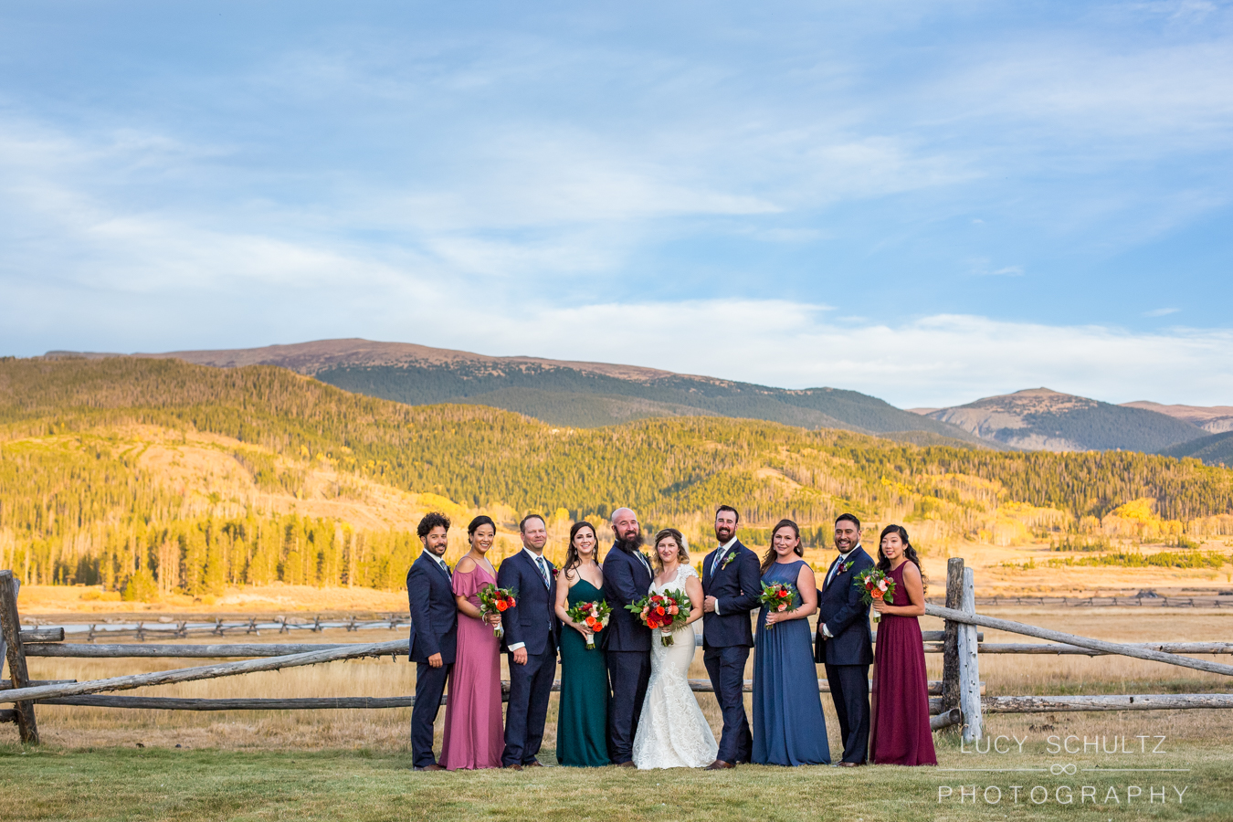 Image by  Lucy Shultz Photography  at Devil's Thumb Ranch