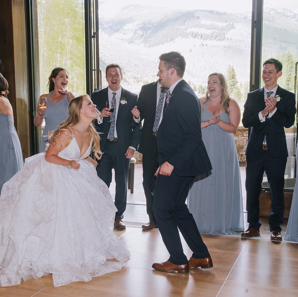 First Dance Fun by  Elevate Photography