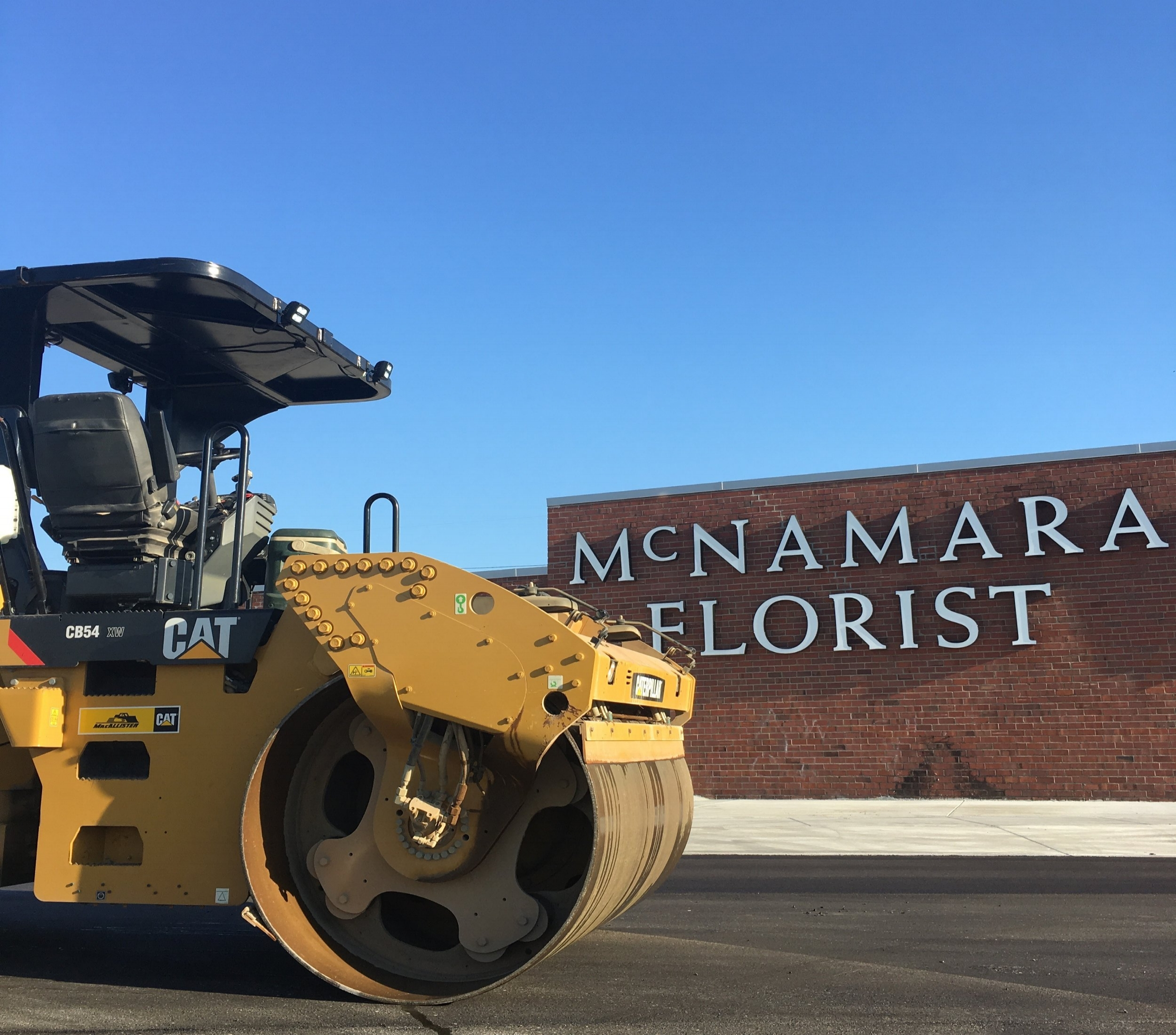 Tax Increment Financing (TIF) funding improved Ludlow Street as part the relocation and expansion of McNamara Florist