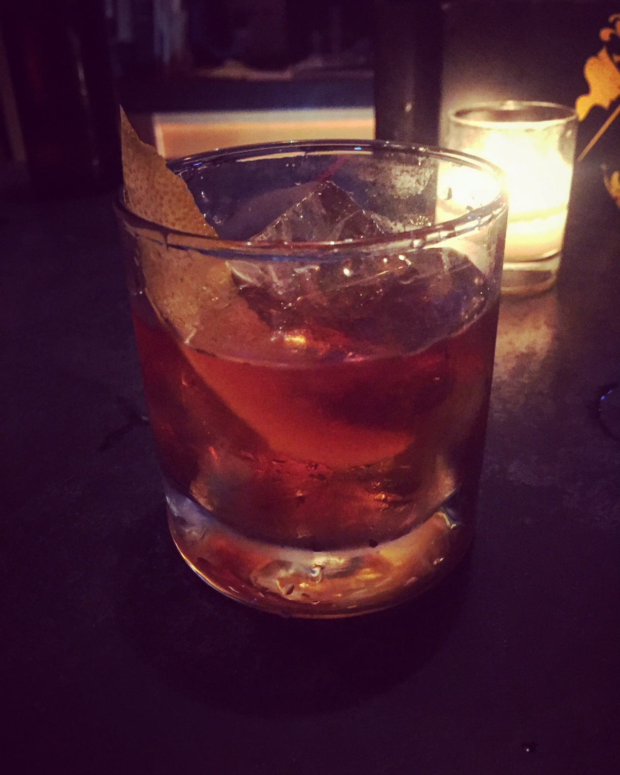Old Fashioned at On the Rocks