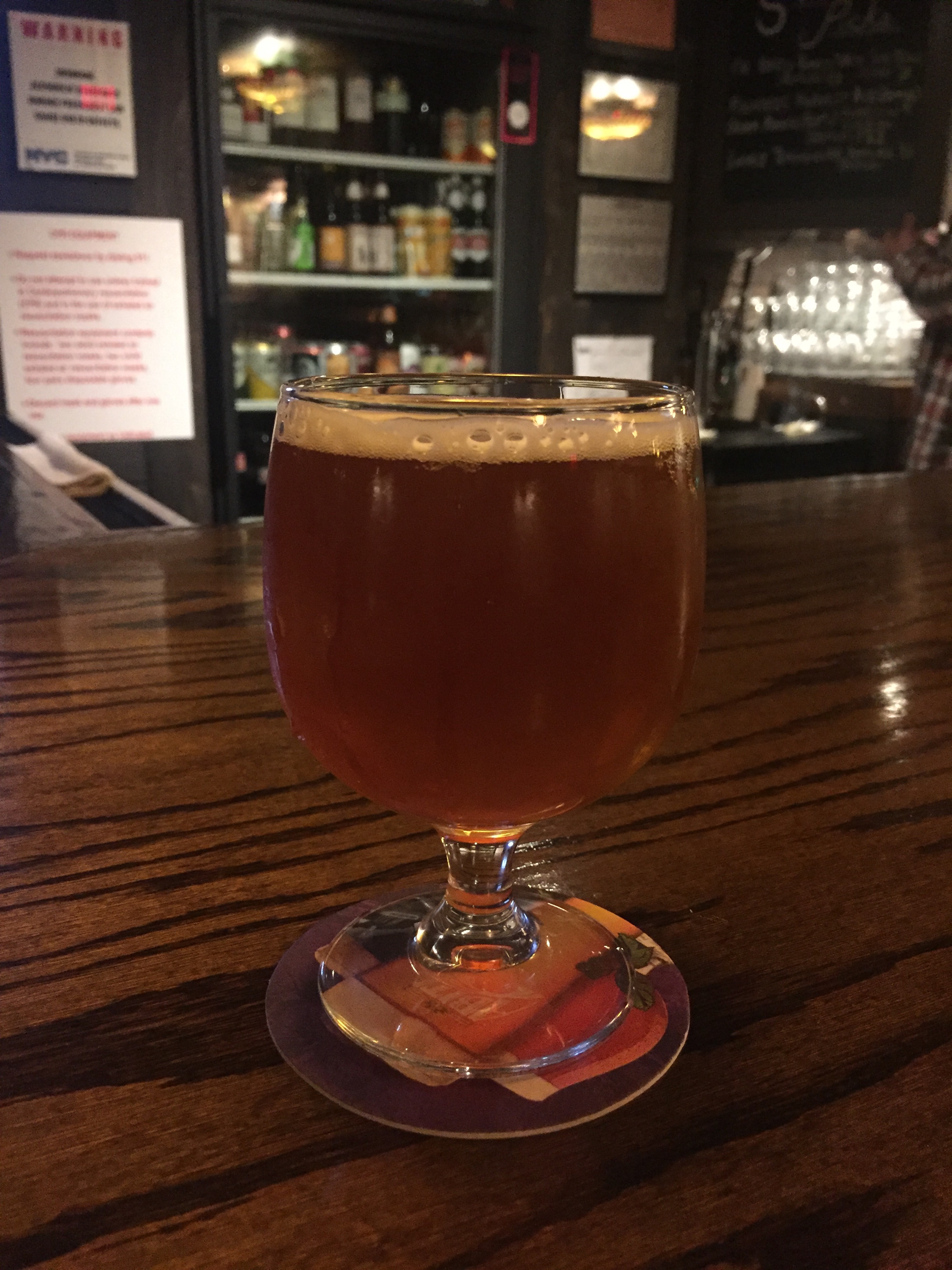 The Great Pumpkin Ale at Arts and Crafts