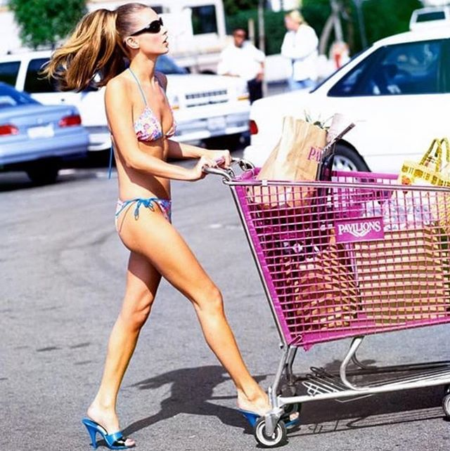 Running errands today like...