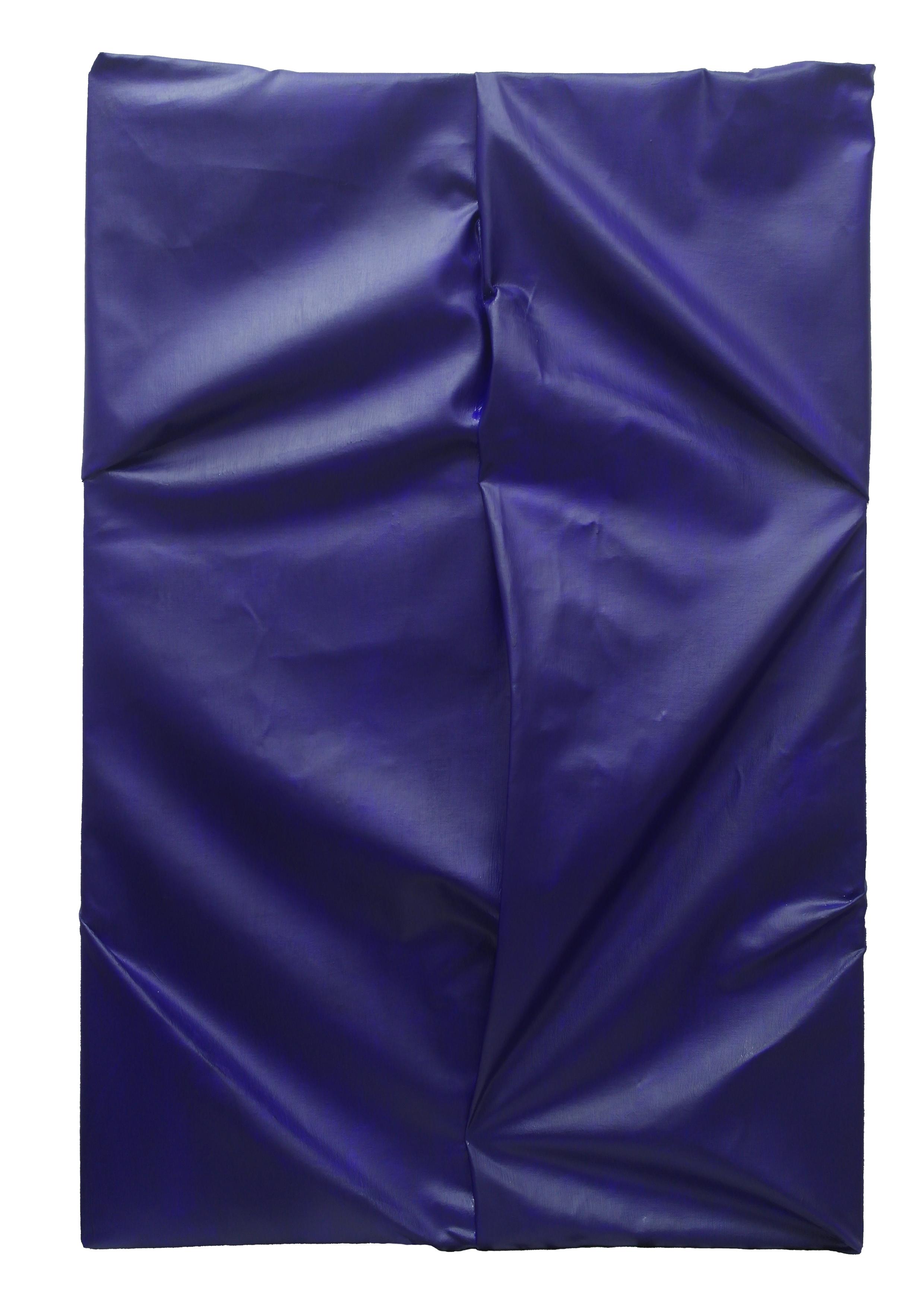 Torso  - 2015  Acrilico su tela piegata  120 x 80 cm