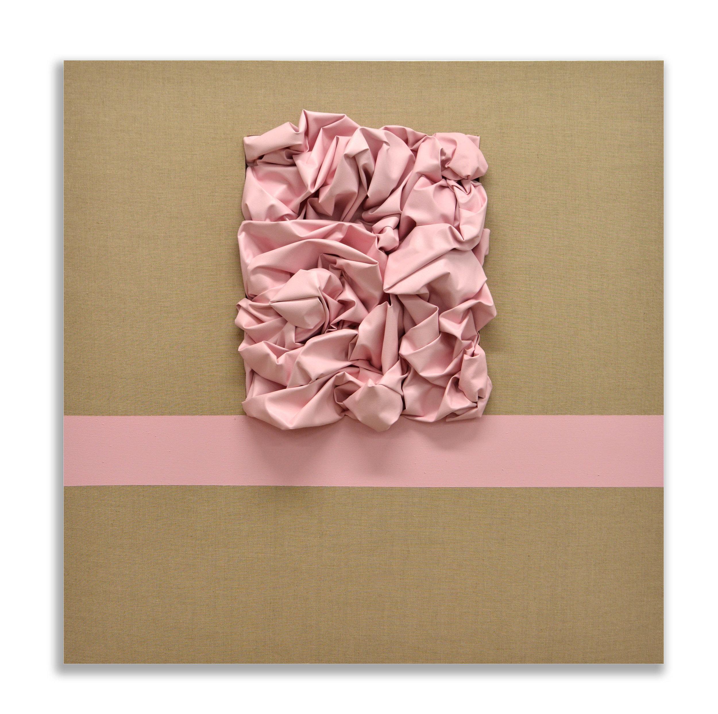 The Resurrection  - 2018  Pigmento acrilico su tela di lino grezza  130 x 130 cm