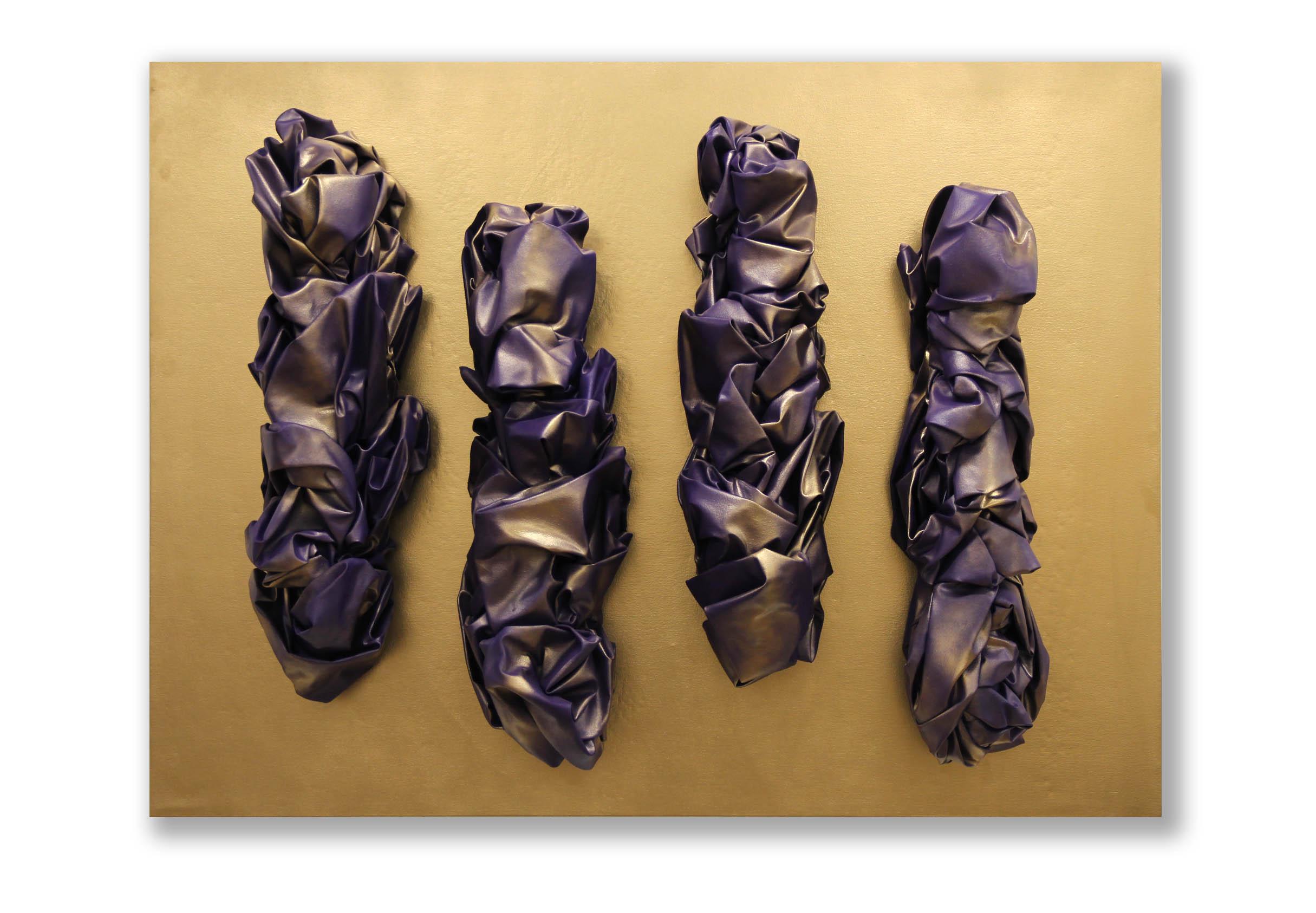 Hideous Baroque  - 2017  Pigmento acrilico e bomboletta spray su tela tesa su tavola  120 x 160 cm