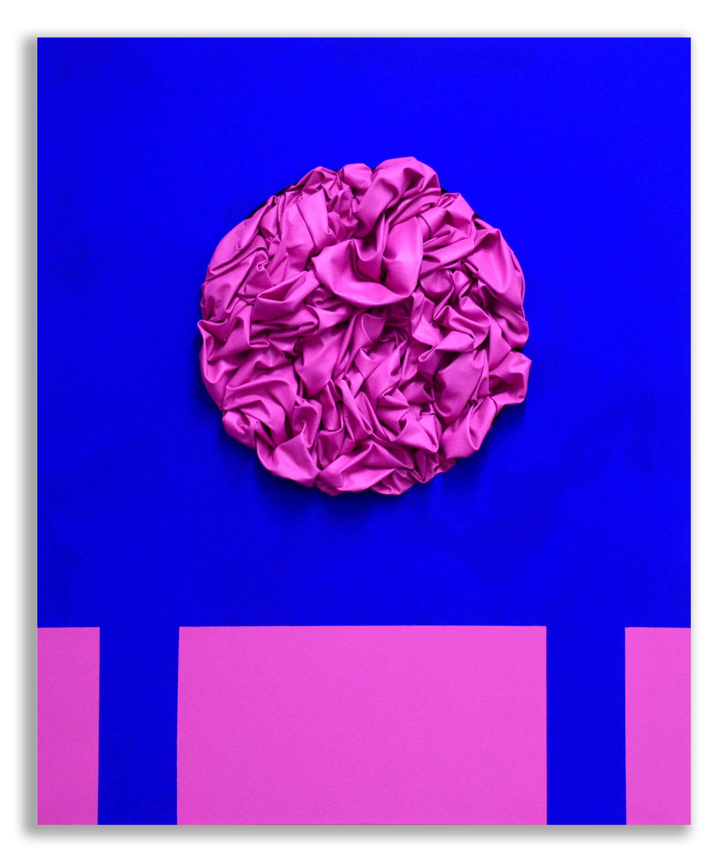 Looking for a Classic Motif: Maestà -  2017  Pigmento acrilico e bomboletta spray su tela  120 x 100 cm  Collezione Privata