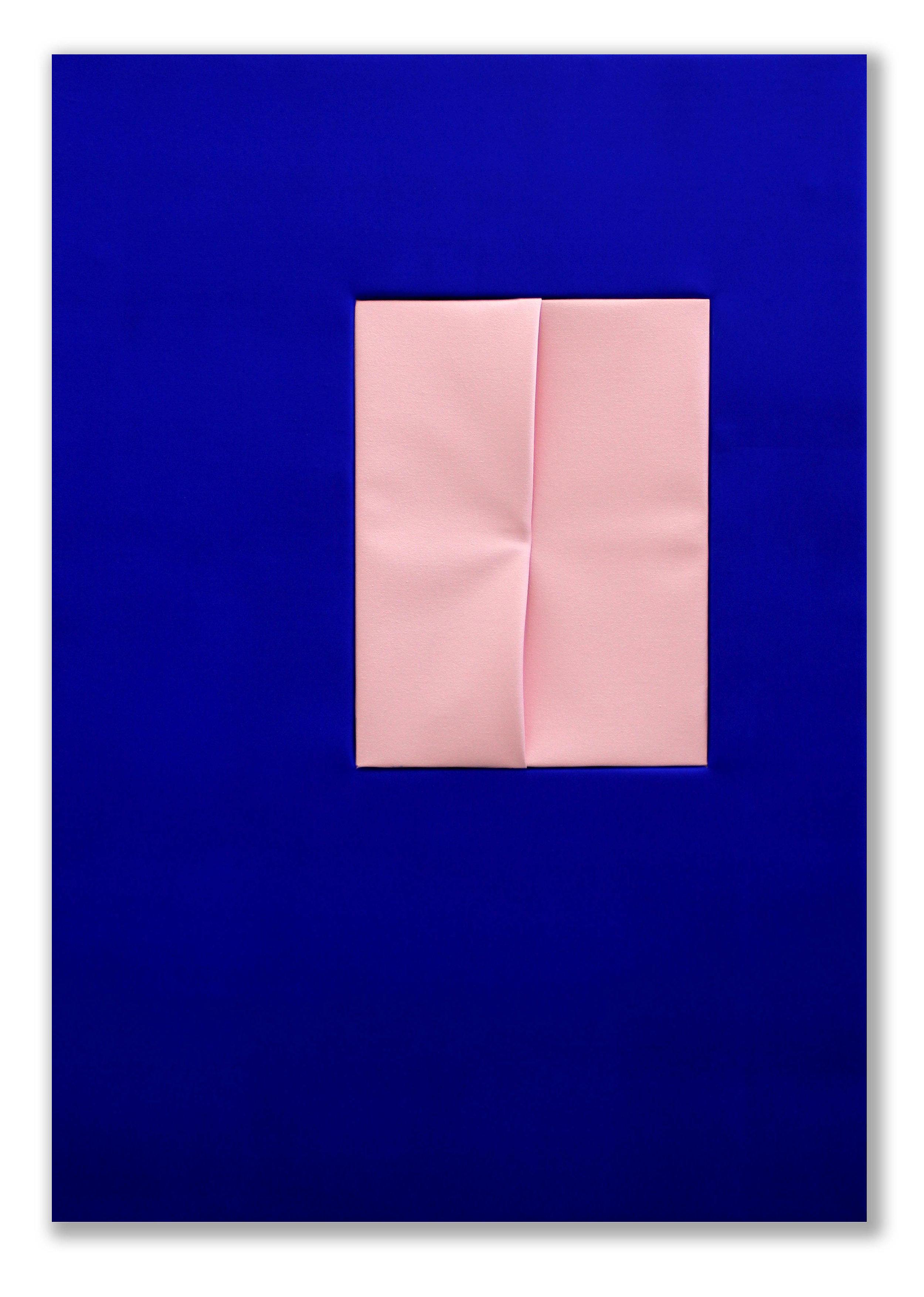 Madonna and Child  - 2016  Pigmento acrilico su tela  100 x 70 cm  Collezione Privata