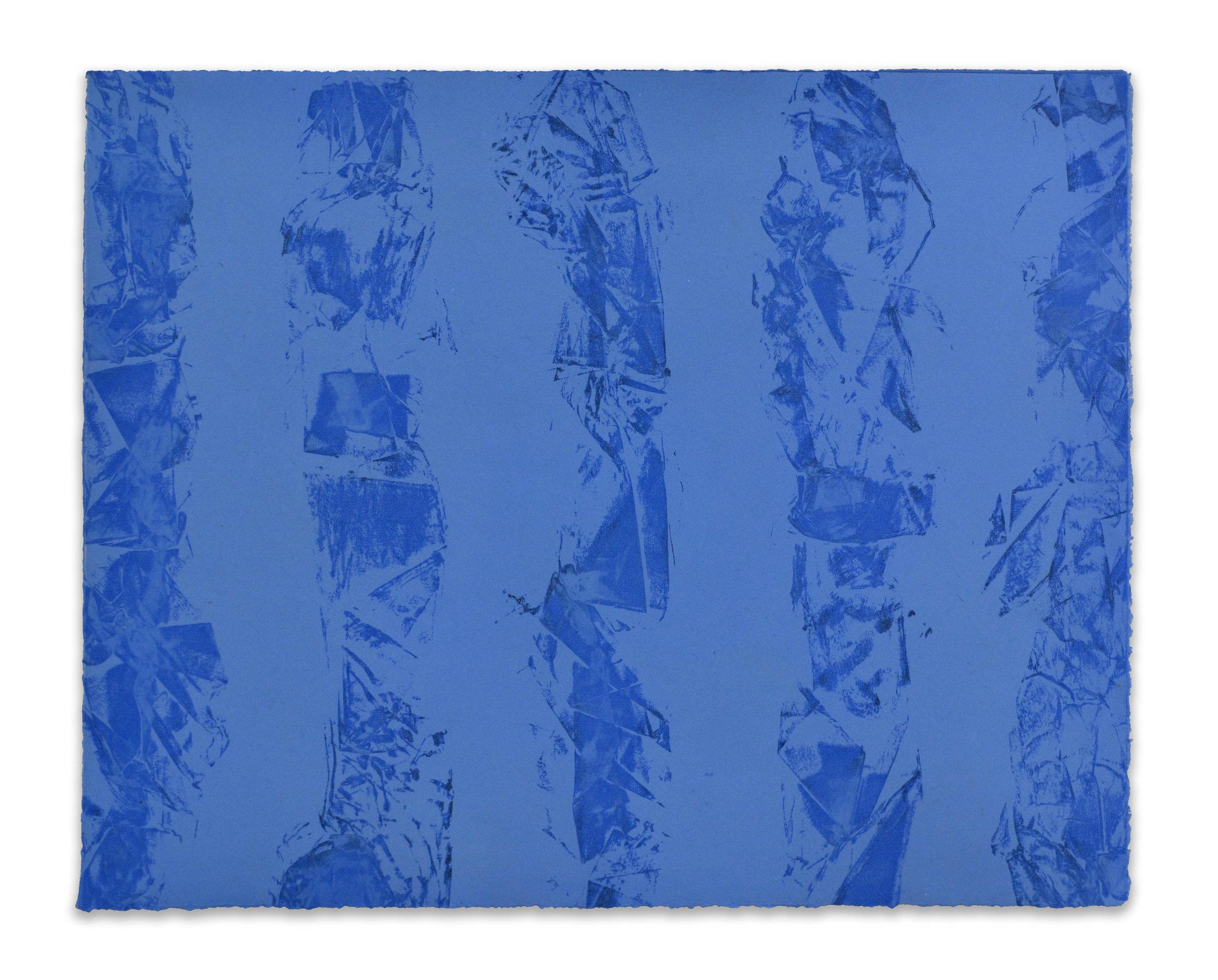 Flowing  - 2018  Incisione su carta PA  37,6 x 48,3 cm