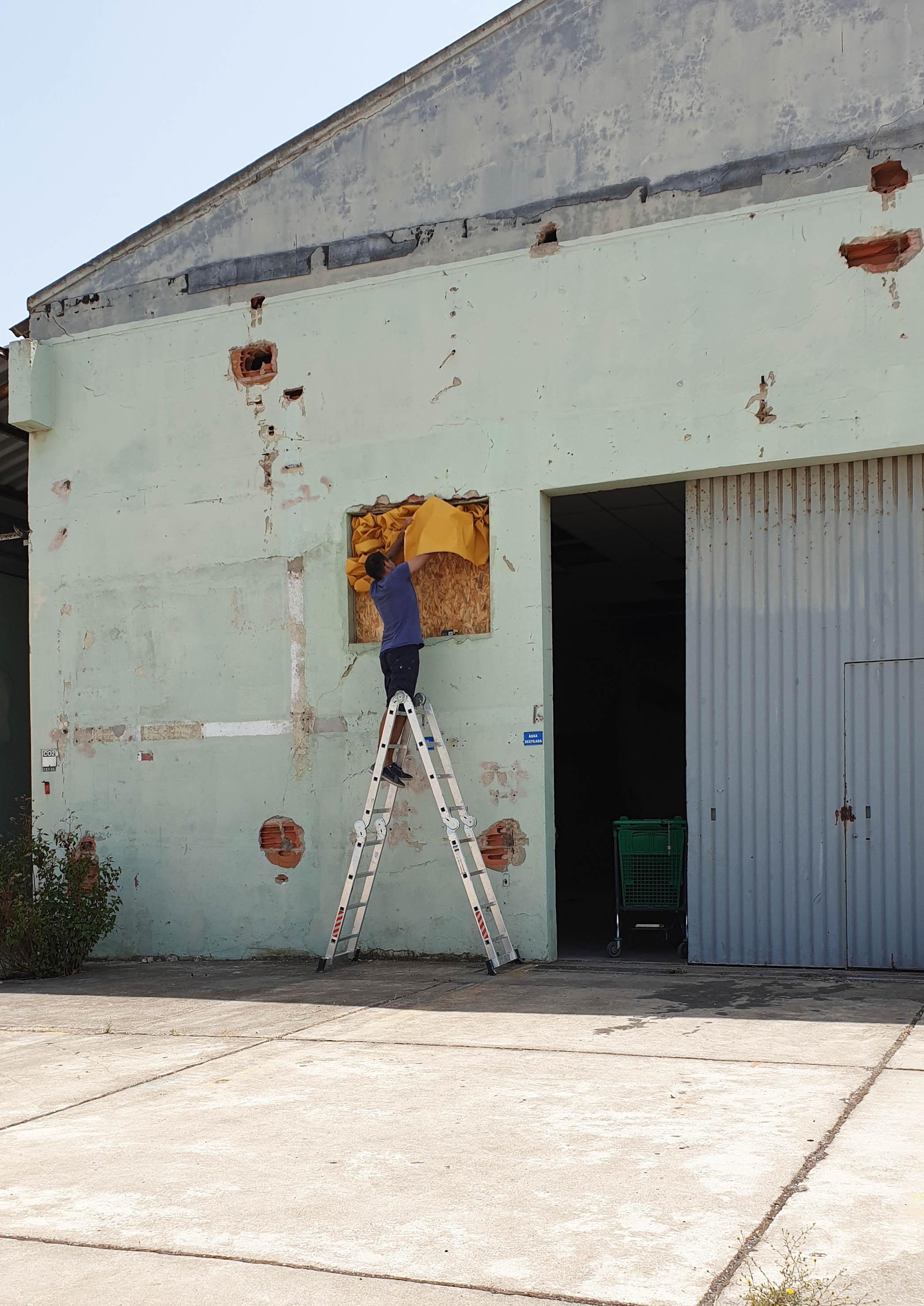 The Old Paint Factory - Barreiro, Portogallo - Luglio 2019