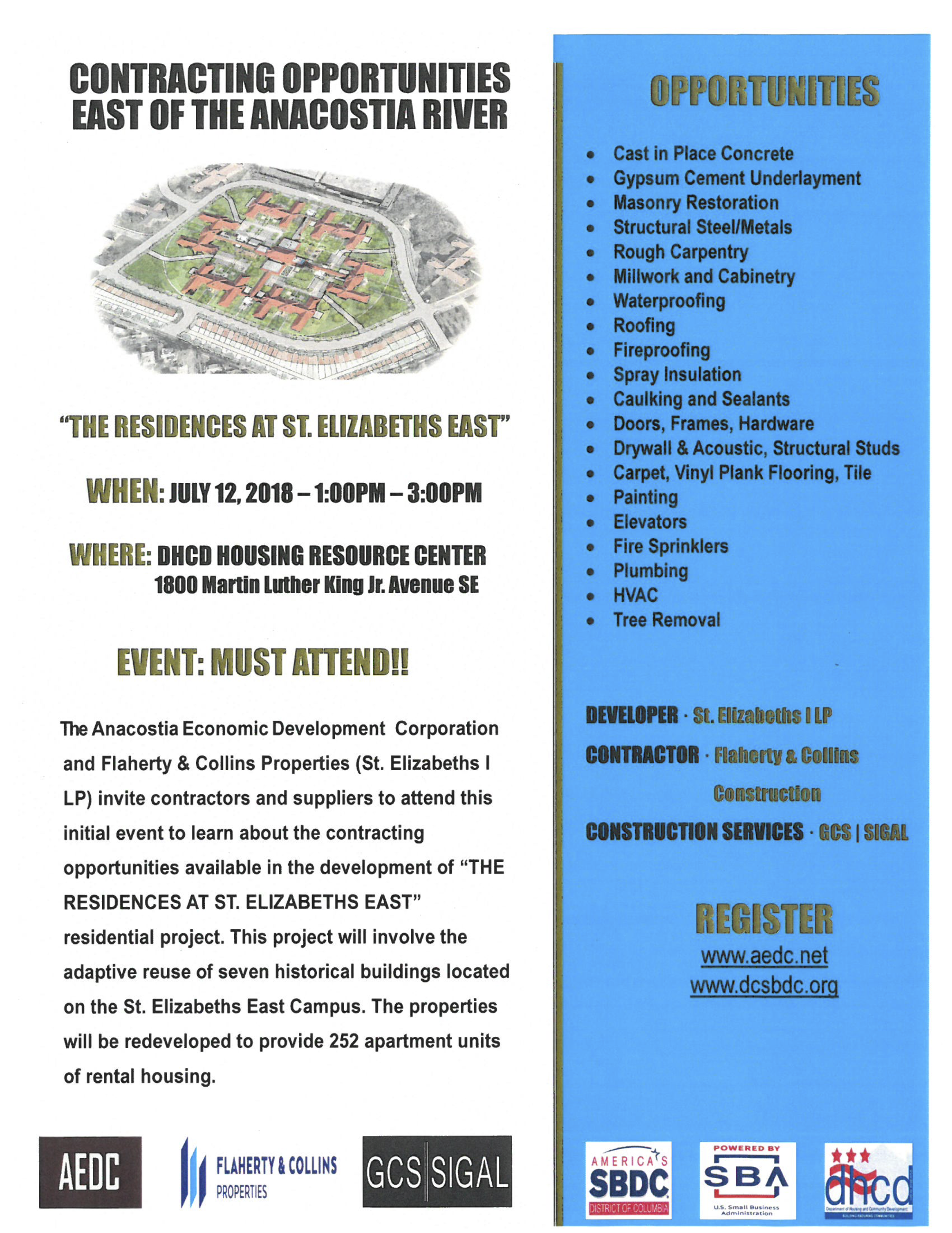 Flyer - Contracting Opportunities - The Residences at St. Elizabeths East -.png