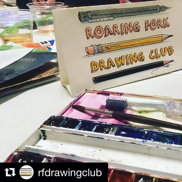 13 Wild Word Submissions were illustrated last night for our Wild Cards To Congress Campaign! #playyourwildcard  We've got about 75 more to go! If your an artist and are interested in helping creatively contribution g to this campaign, contact us at director@lettertocongressproject.org . . .  #Repost @rfdrawingclub ・・・ Absolutely incredible evening with over a dozen @rfdrawingclub creatives! We spent a couple hours illustrating Wild Cards for the @lettertocongressawildsanity and @womenforwildlands ongoing campaign to protect public lands. Thanks to everyone who made it out tonight!! • • • #drawingnight #savepubliclands #rfdrawingclub #sketchiestfolksintown #carbondalecreativedistrict