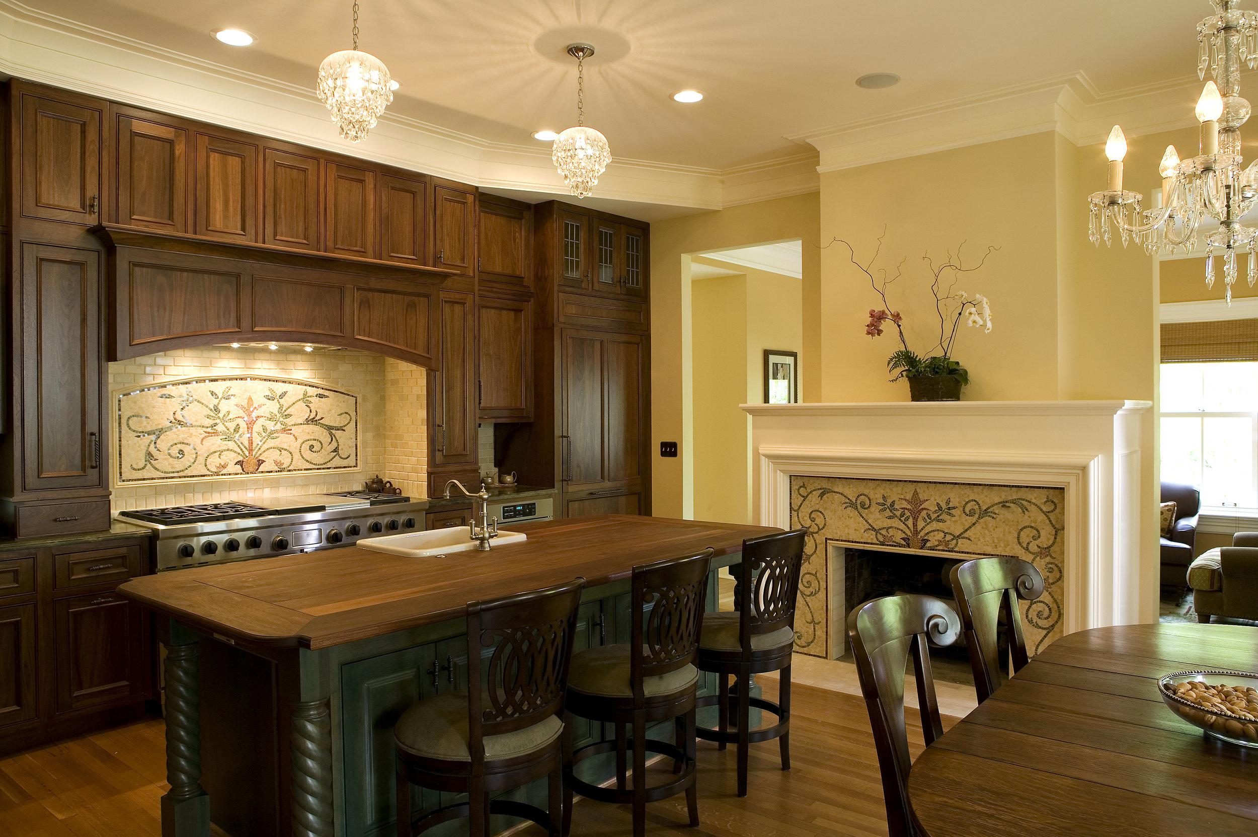 Kitchen staging interior design 1210 GREENWOOD 002.jpg