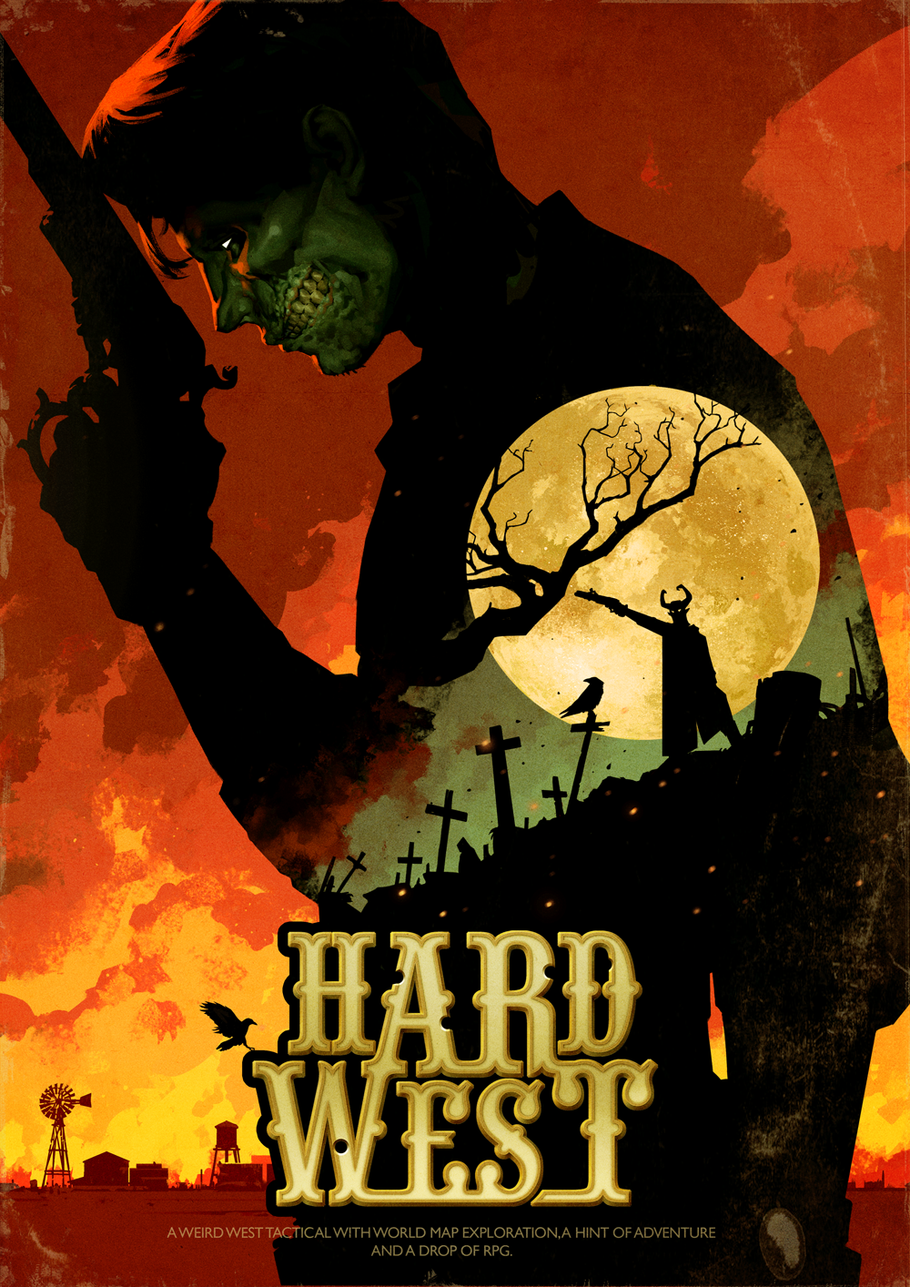 Hard West Cover Artwork