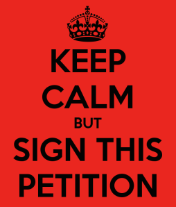 keep calm sign petition.png