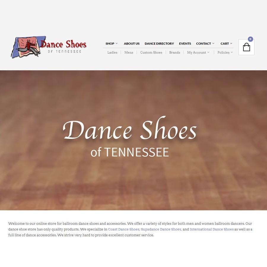 www.danceshoesoftennessee.com