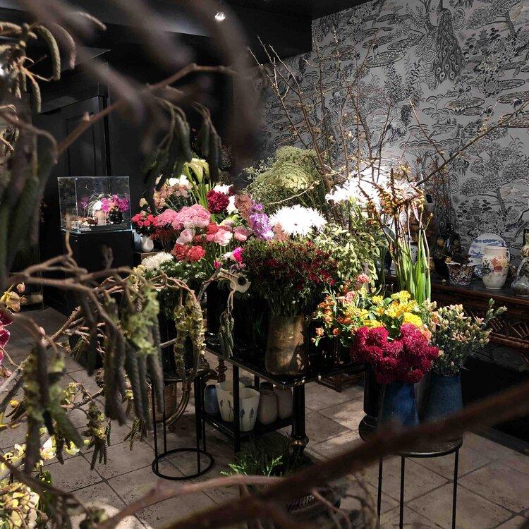 boya flower shop beautiful intimate well-being design fresh flowers