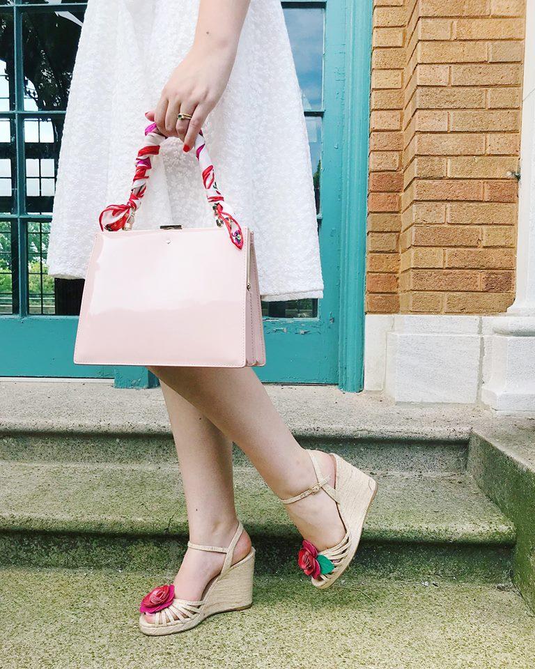 kate spade white dress