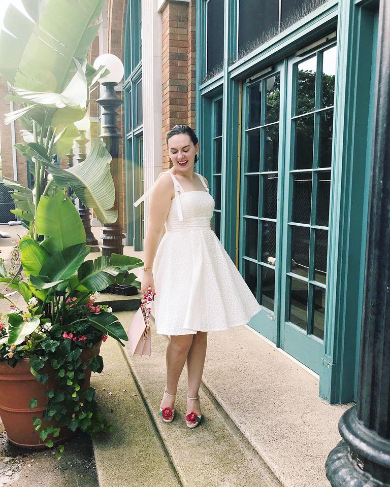 gal meets glam white dress