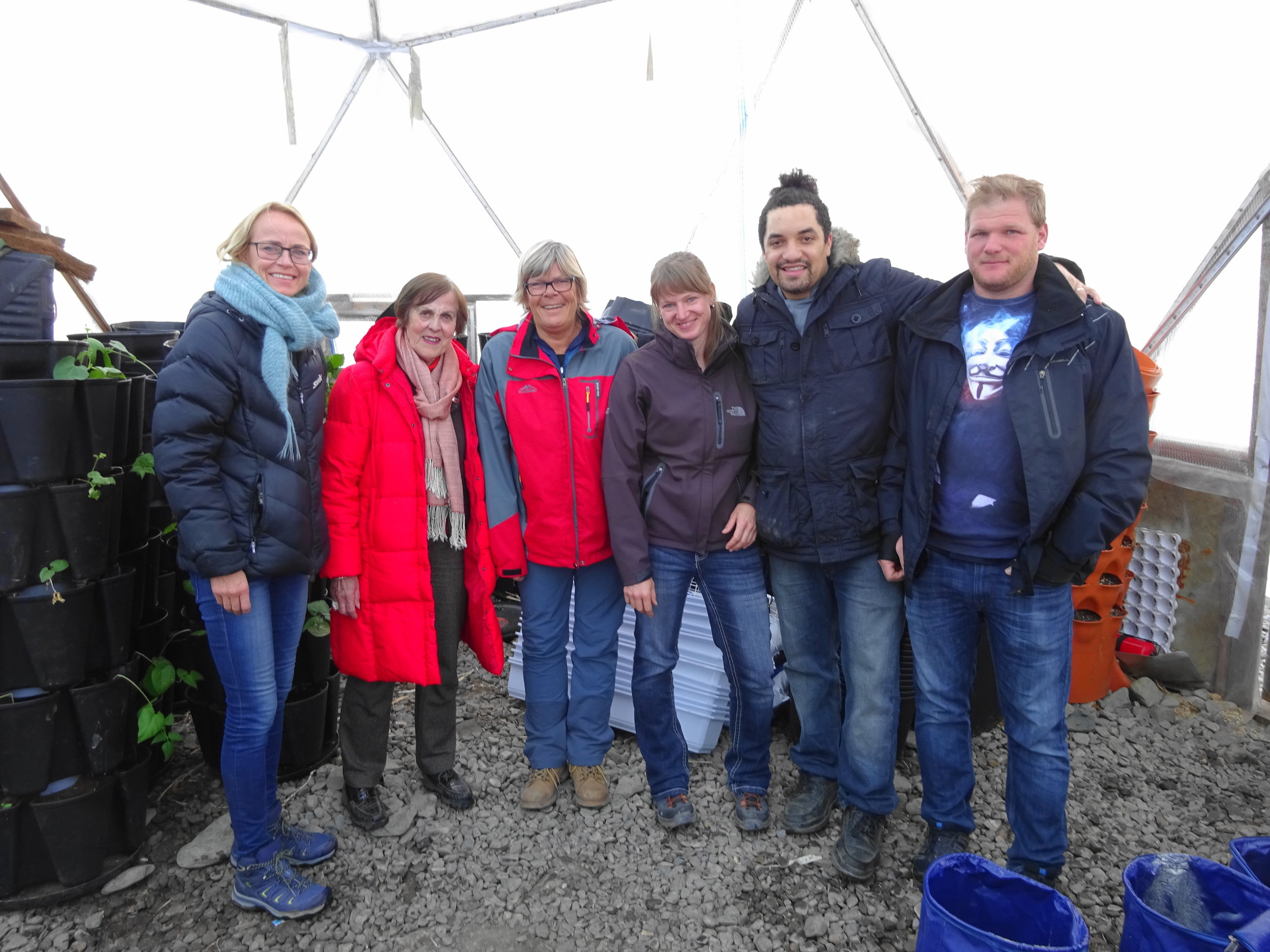 Guest from an Arctic Farm to Table Tour.