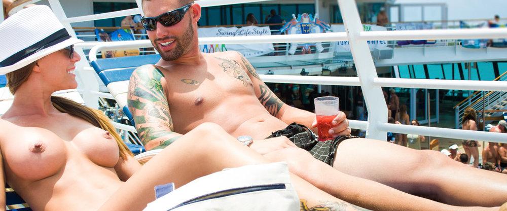 Naked cruise Cancun Boobs